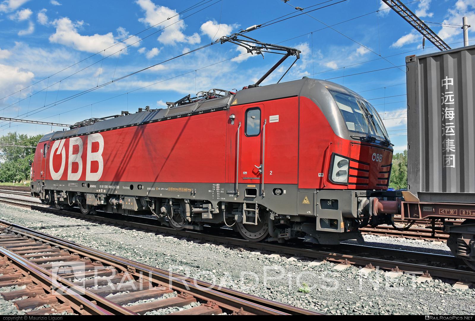 Siemens Vectron MS - 1293 030 operated by Rail Cargo Carrier – Italy s.r.l #obb #osterreichischebundesbahnen #rccit #siemens #siemensvectron #siemensvectronms #vectron #vectronms