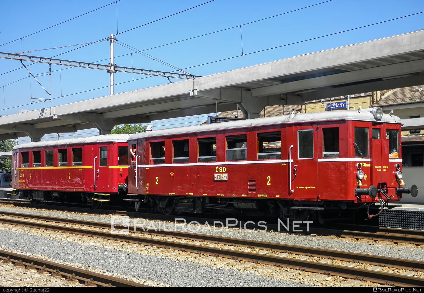 Vagónka TATRA Studénka Class M131.1 - M131.1443 operated by Železnice Slovenskej Republiky #csd #hurvinek #m1311 #tatra #vagonkastudenka #vagonkatatrastudenka #zelezniceslovenskejrepubliky #zsr