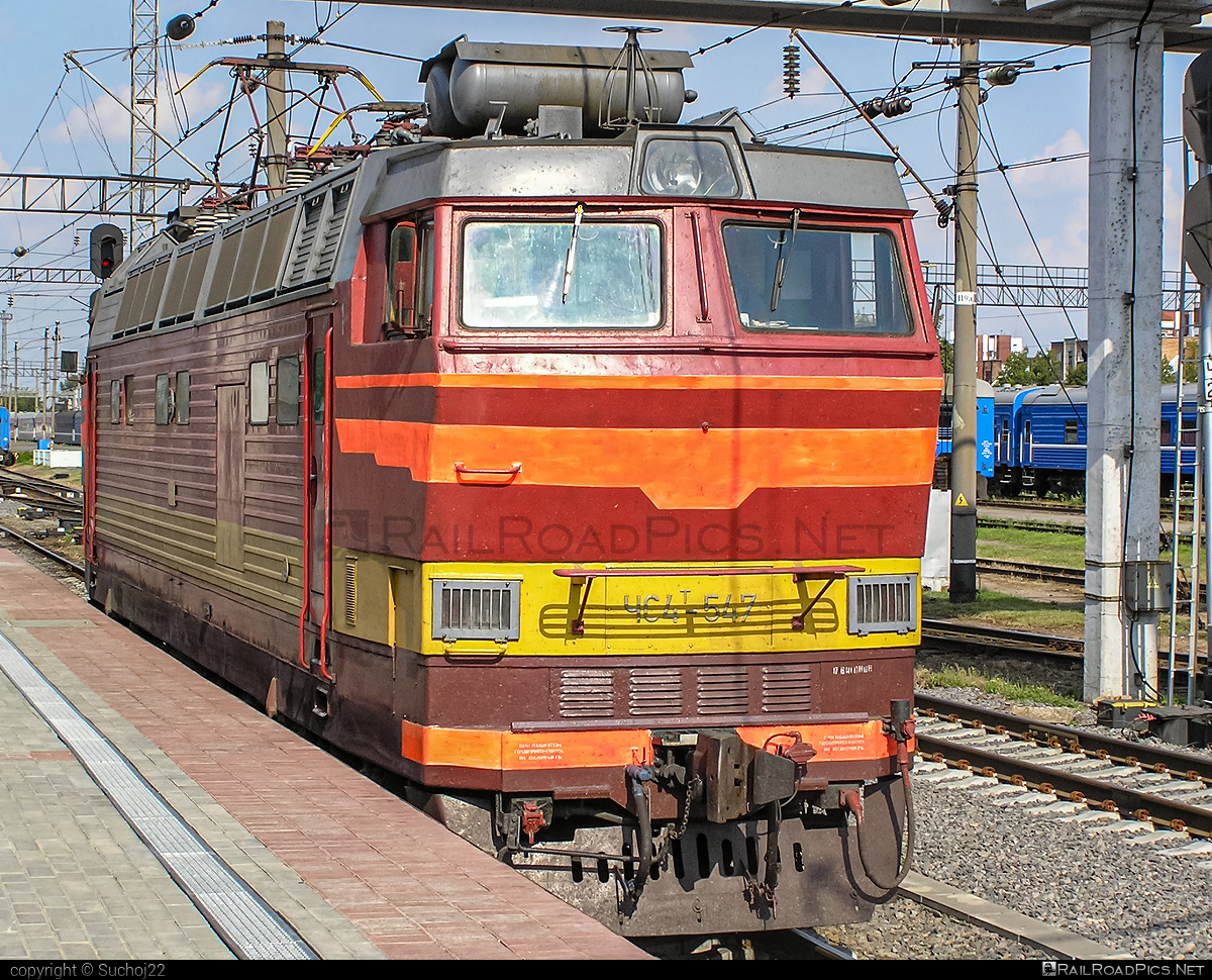 Škoda 62E6 - ЧС4Т-547 operated by Belarus Railways #skoda #skoda62e #skoda62e6