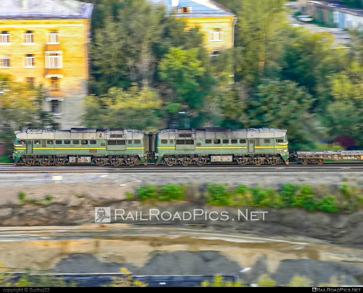Lugansk 2M62 - Unknown vehicle ID operated by Russkiye Zheleznye Dorogi #2m62 #2m62locomotive #locomotive2m62 #ltz #ltz2m62 #lugansk #luganskteplovoz #luhansk2m62 #luhansklocomotiveworks #luhanskteplovoz
