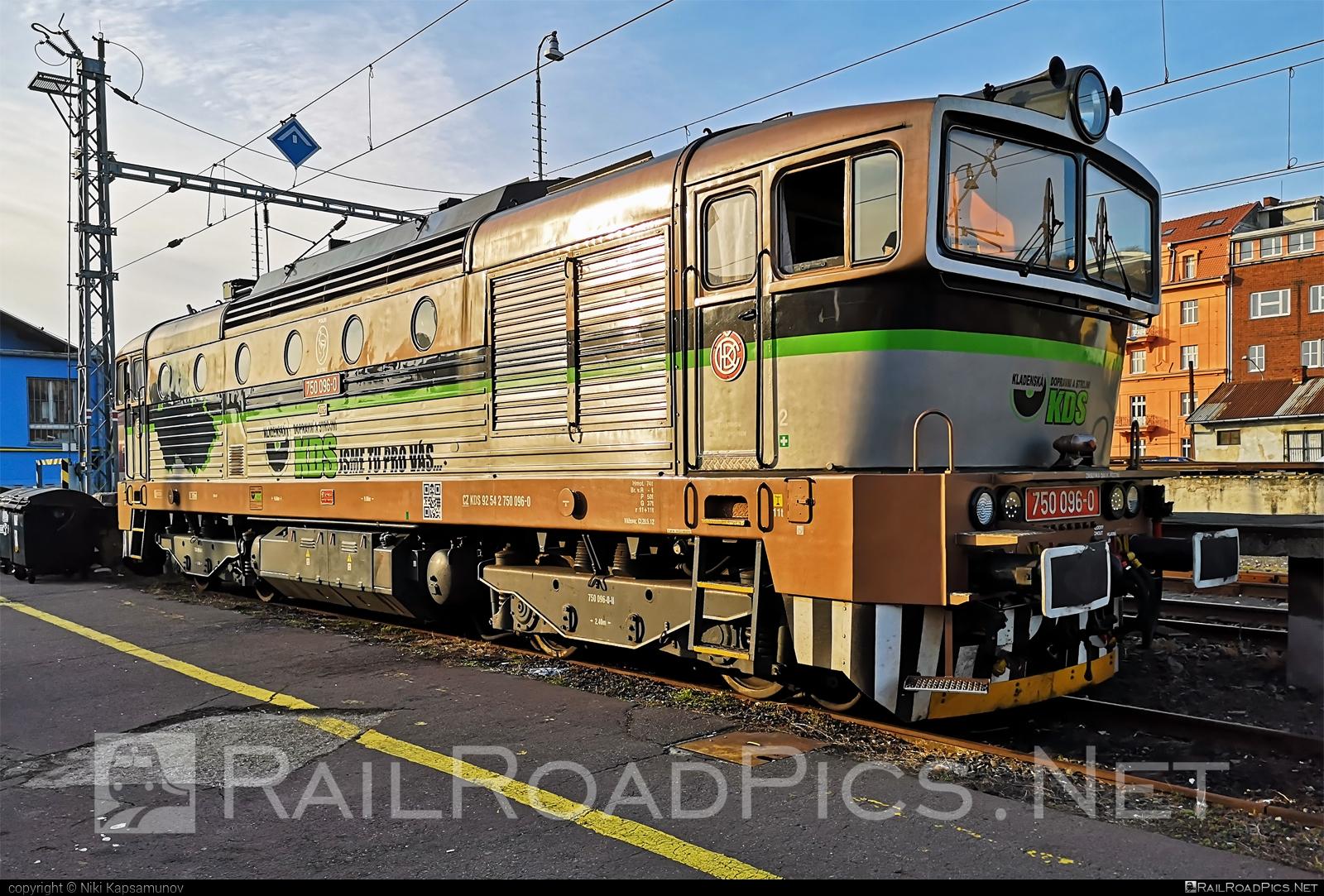 ČKD T 478.3 (753) - 750 096-0 operated by Kladenská dopravní a strojní s.r.o. #brejlovec #ckd #ckdclass753 #ckdt4783 #kds #locomotive753 #okuliarnik