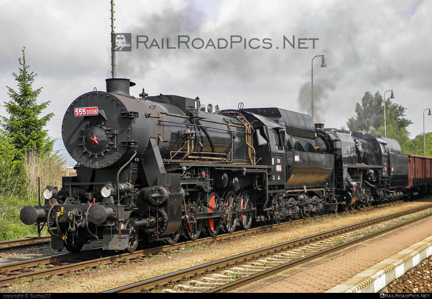 Škoda Class 555.3 - 555.3008 operated by Železnice Slovenskej Republiky #locomotive5553 #skoda #skodaClass5553 #zelezniceslovenskejrepubliky #zsr