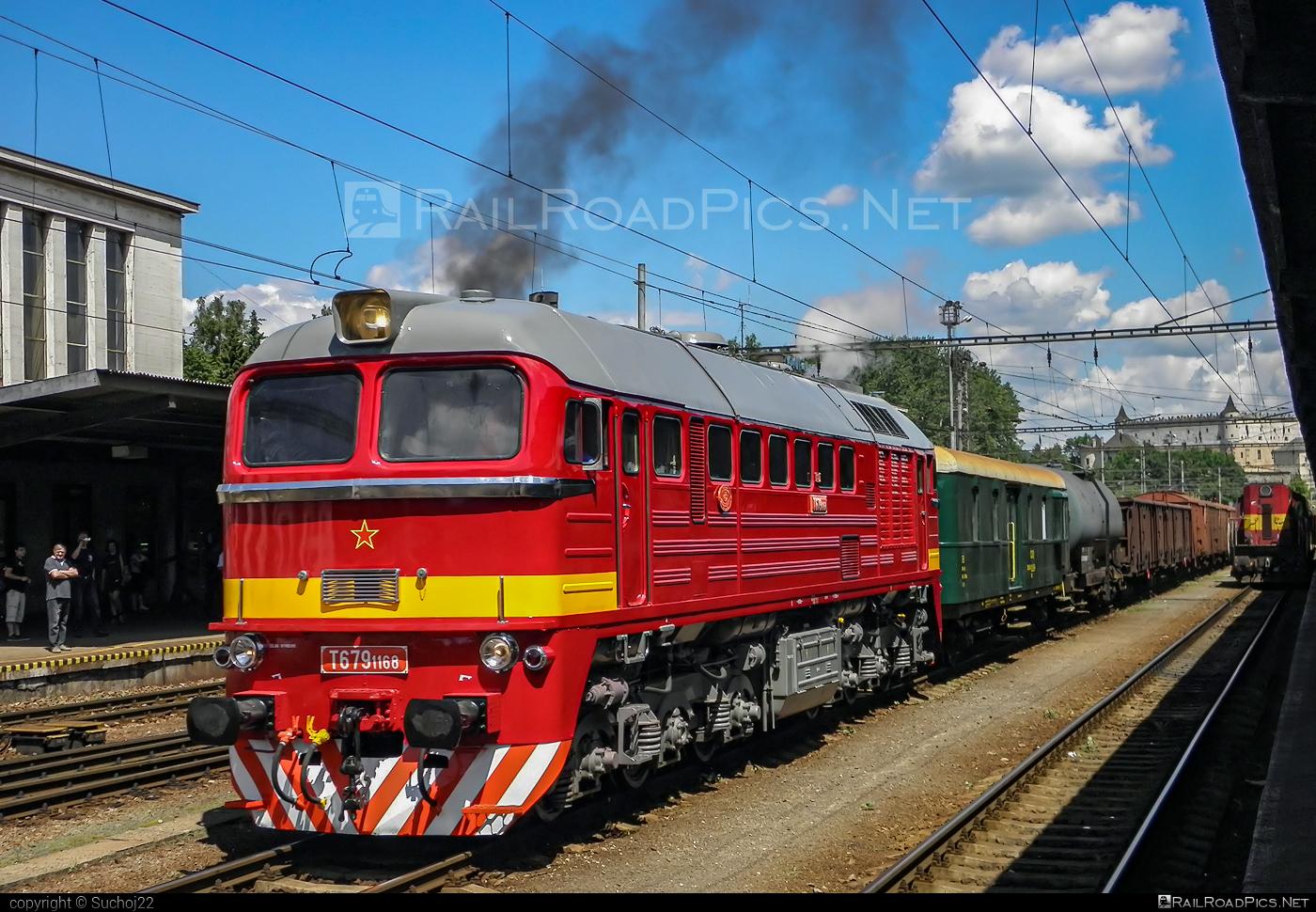 Lugansk M62 - T679.1168 operated by Železnice Slovenskej Republiky #csd #locomotivem62 #ltz #ltzm62 #lugansk #luganskteplovoz #luhansklocomotiveworks #luhanskm62 #luhanskteplovoz #m62 #m62locomotive #sergei #zelezniceslovenskejrepubliky #zsr