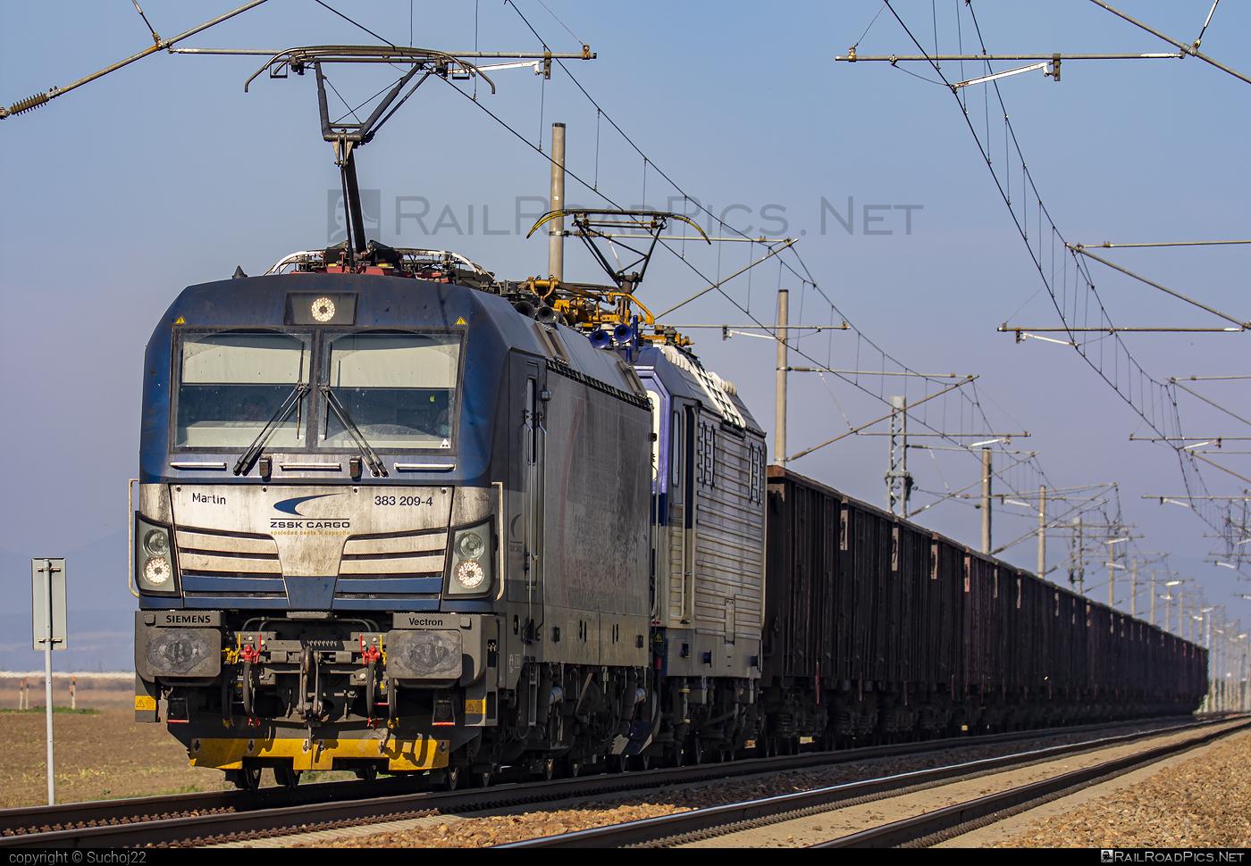 Siemens Vectron MS - 383 209-4 operated by Železničná Spoločnost' Cargo Slovakia a.s. #RollingStockLease #RollingStockLeaseSro #ZeleznicnaSpolocnostCargoSlovakia #raill #siemens #siemensvectron #siemensvectronms #vectron #vectronms #zsskcargo