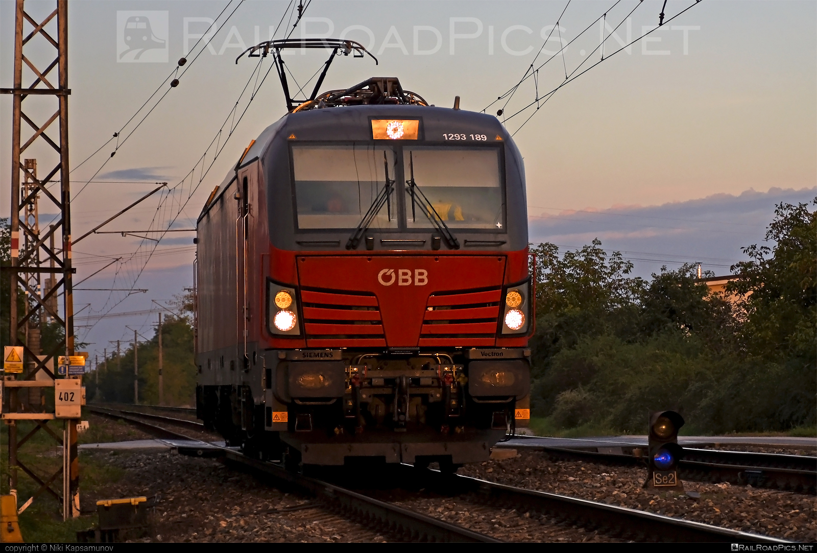 Siemens Vectron MS - 1293 189 operated by Rail Cargo Carrier – Slovakia s.r.o. #obb #osterreichischebundesbahnen #siemens #siemensvectron #siemensvectronms #vectron #vectronms