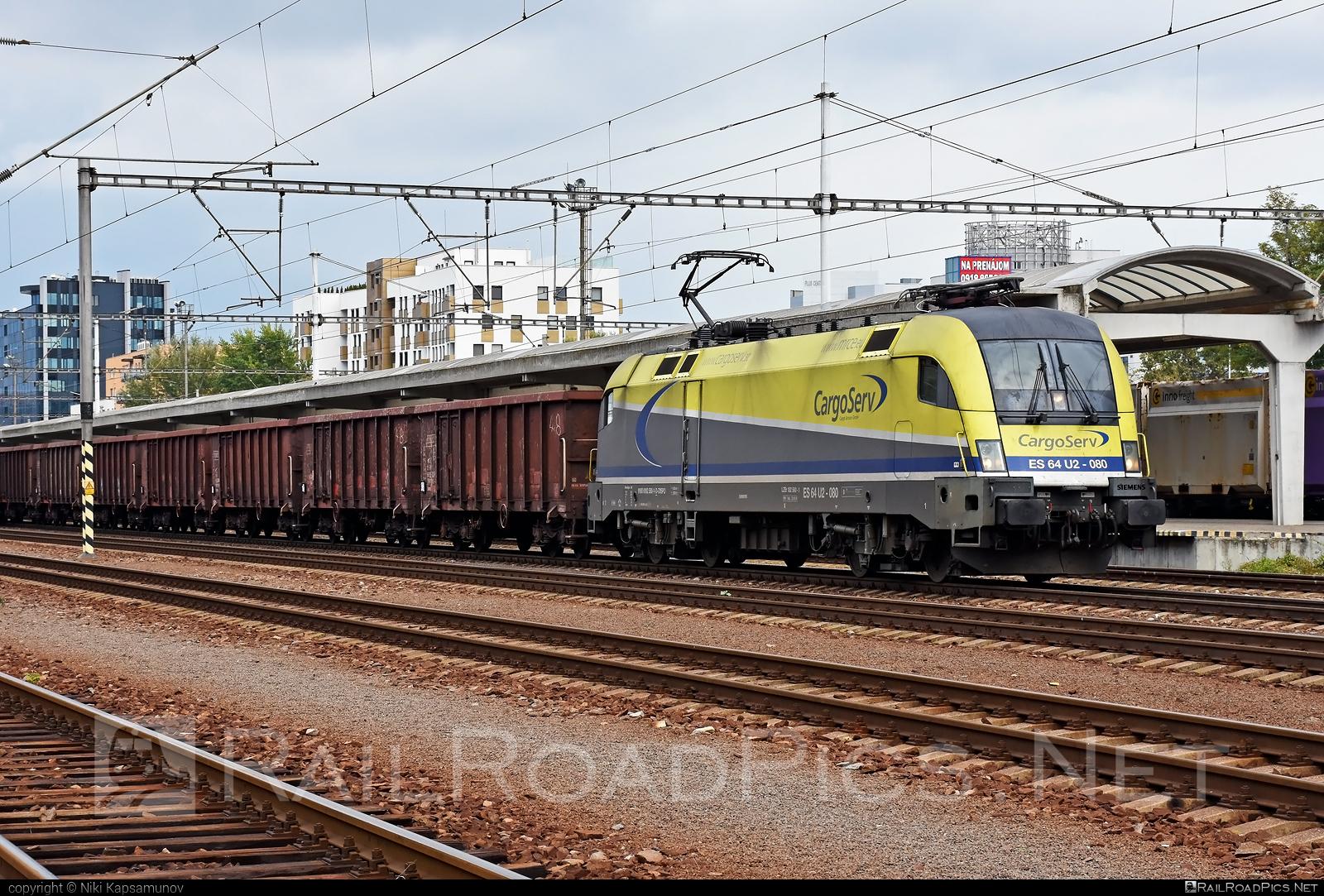 Siemens ES 64 U2 - 182 580-1 operated by CargoServ GmbH #cargoserv #dispolok #es64 #es64u #es64u2 #eurosprinter #mitsuirailcapitaleurope #mitsuirailcapitaleuropegmbh #mrce #siemens #siemenses64 #siemenses64u #siemenses64u2 #siemenstaurus #taurus #tauruslocomotive