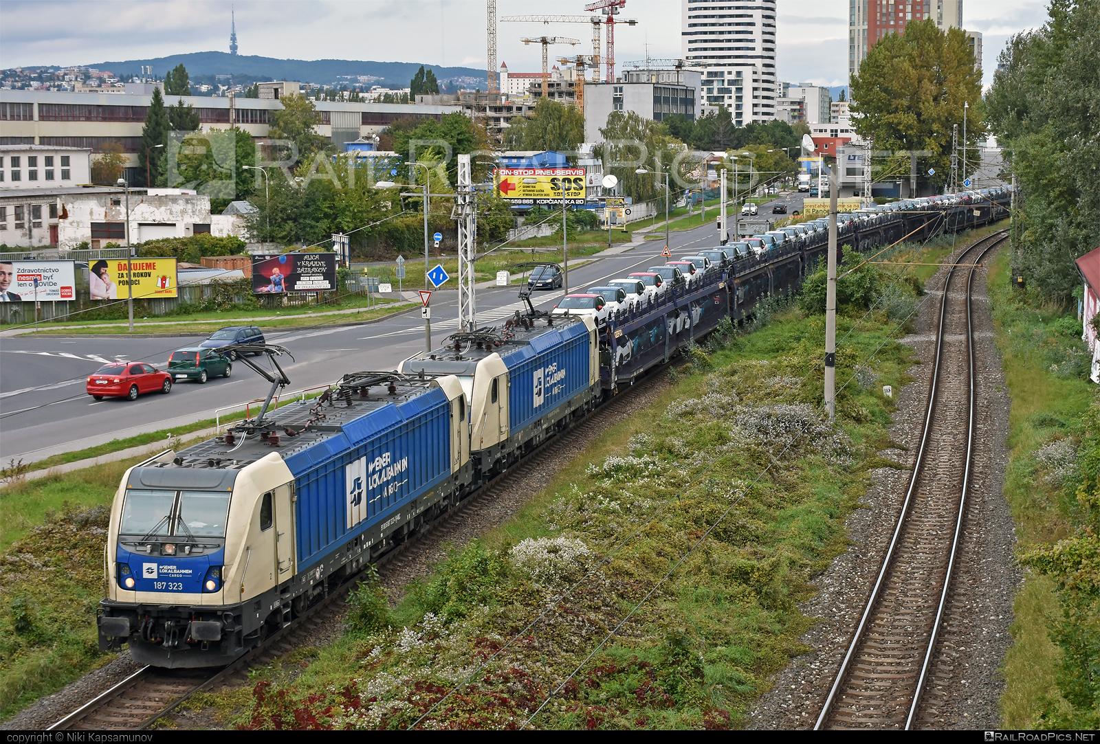 Bombardier TRAXX F160 AC3 - 187 323 operated by Wiener Lokalbahnen Cargo GmbH #bombardier #bombardiertraxx #traxx #traxxf160 #traxxf160ac #traxxf160ac3 #wienerlokalbahnencargo #wienerlokalbahnencargogmbh #wlc