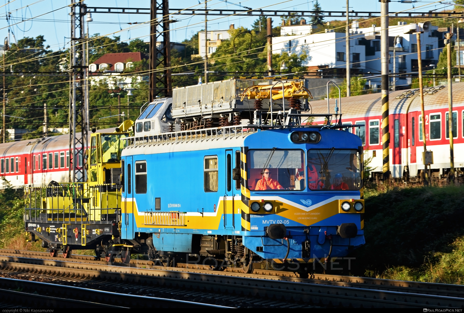 Vagónka Studénka MVTV 02 - MVTV 02-05 operated by Železnice Slovenskej Republiky #locomotivemvtv #mvtv02 #mvtv2 #vagonkastudenka #zelezniceslovenskejrepubliky #zsr