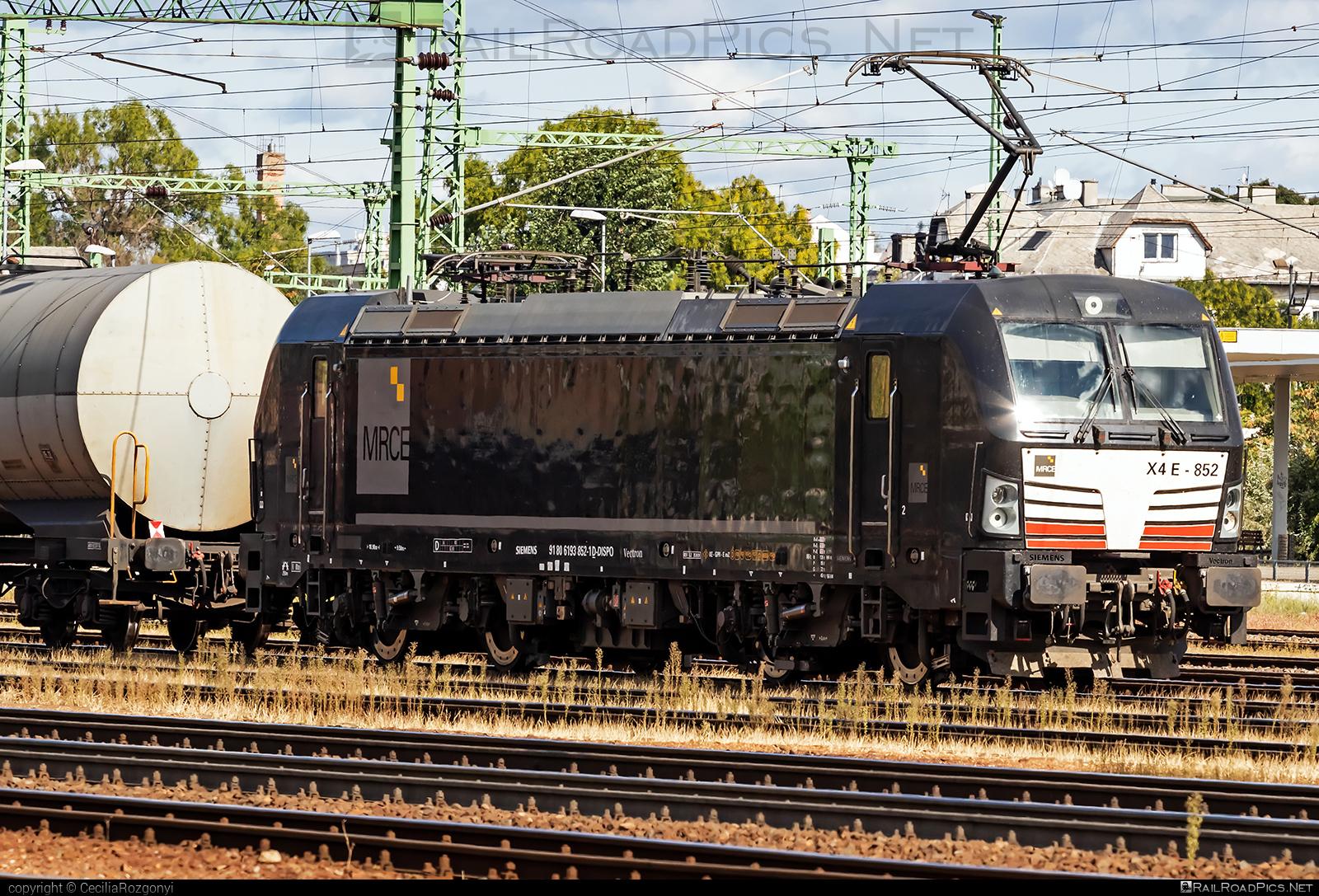 Siemens Vectron AC - 193 852 operated by Eisenbahnen und Verkehrsbetriebe Elbe-Weser #dispolok #evb #mitsuirailcapitaleurope #mitsuirailcapitaleuropegmbh #mrce #siemens #siemensvectron #siemensvectronac #vectron #vectronac