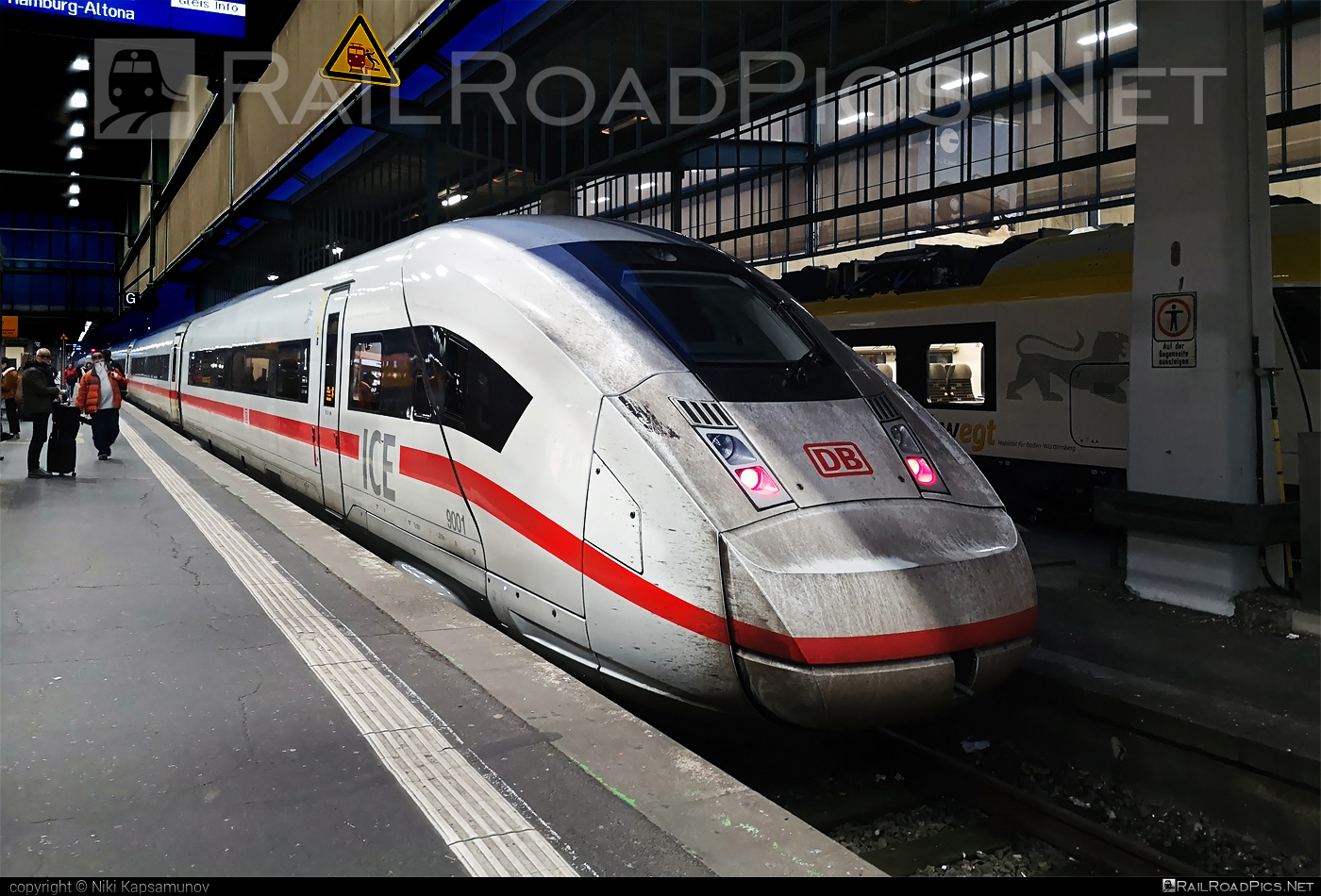 Siemens ICE 4 - 9001 operated by Deutsche Bahn / DB AG #db #dbice4 #ice4 #siemens #siemensice4