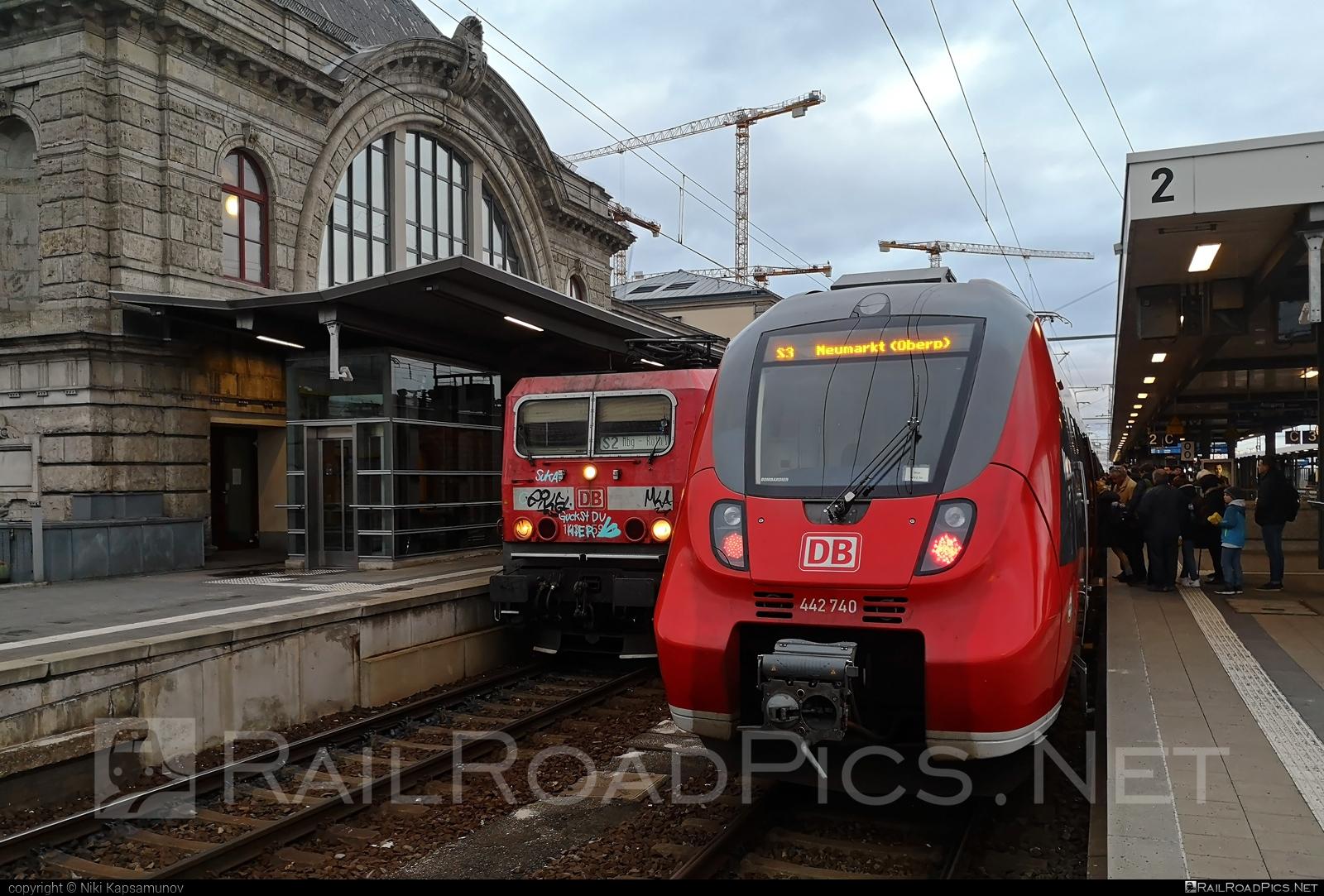 Bombardier Talent 2 - 442 740 operated by Deutsche Bahn / DB AG #bombardier #bombardiertalent #bombardiertalent2 #db #deutschebahn #talent2