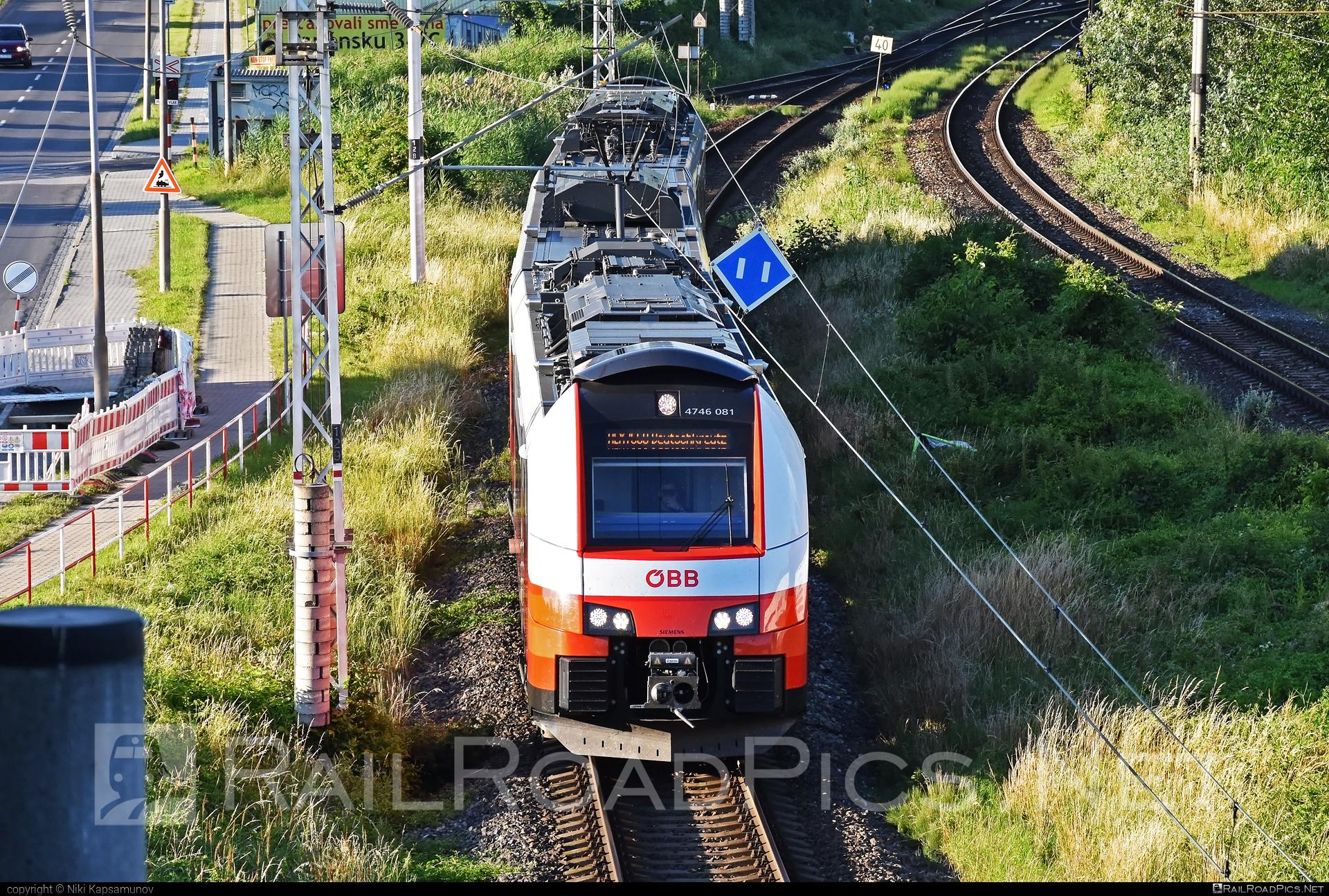 Siemens Desiro ML - 4746 081 operated by Österreichische Bundesbahnen #cityjet #desiro #desiroml #obb #obbcityjet #osterreichischebundesbahnen #siemens #siemensdesiro #siemensdesiroml