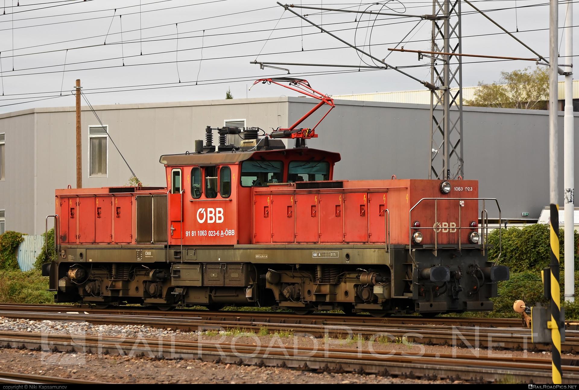 SGP ÖBB Class 1063 - 1063 023 operated by Rail Cargo Austria AG #obb #obb1063 #obbclass1063 #osterreichischebundesbahnen #sgp #sgp1063 #simmeringgrazpauker