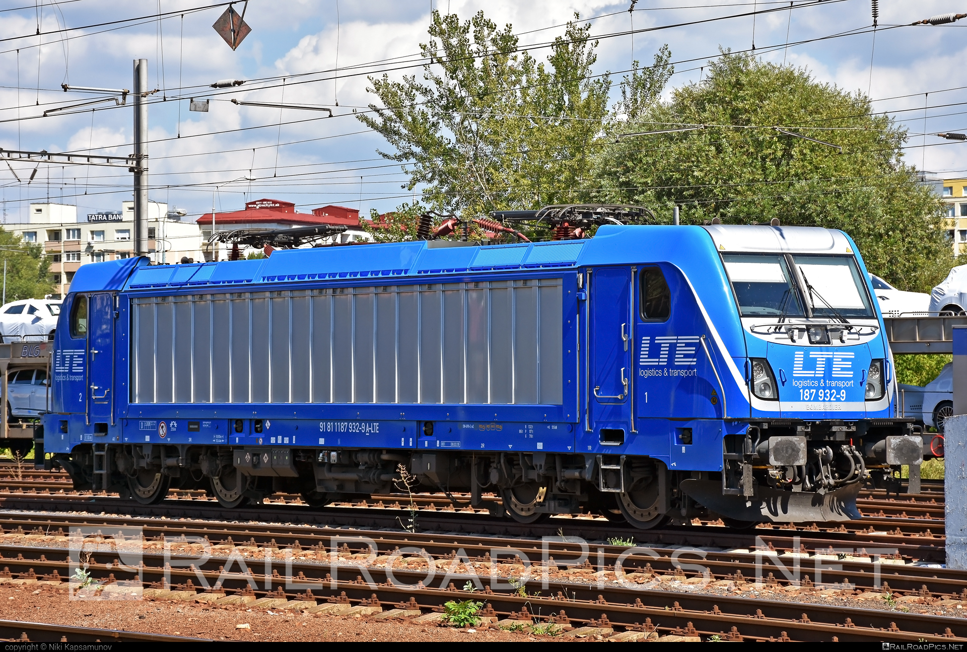 Bombardier TRAXX F140 AC3 - 187 932-9 operated by LTE Logistik und Transport GmbH #bombardier #bombardiertraxx #lte #ltelogistikundtransport #ltelogistikundtransportgmbh #traxx #traxxf140 #traxxf140ac #traxxf140ac3