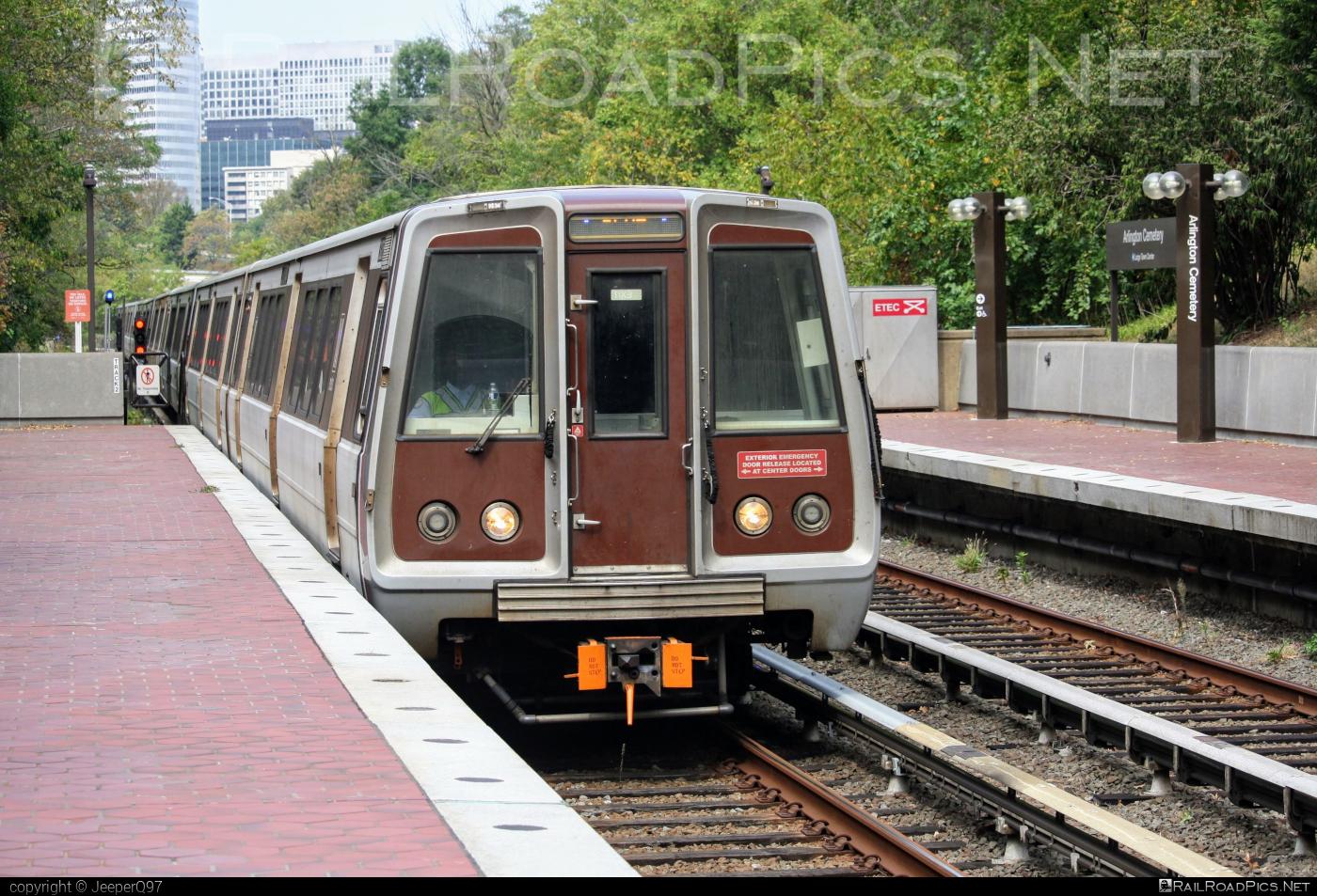Breda WMATA 3000-series - 3275 operated by Washington Metropolitan Area Transit Authority #breda #washingtonmetropolitanareatransitauthority #wmata #wmata3000series