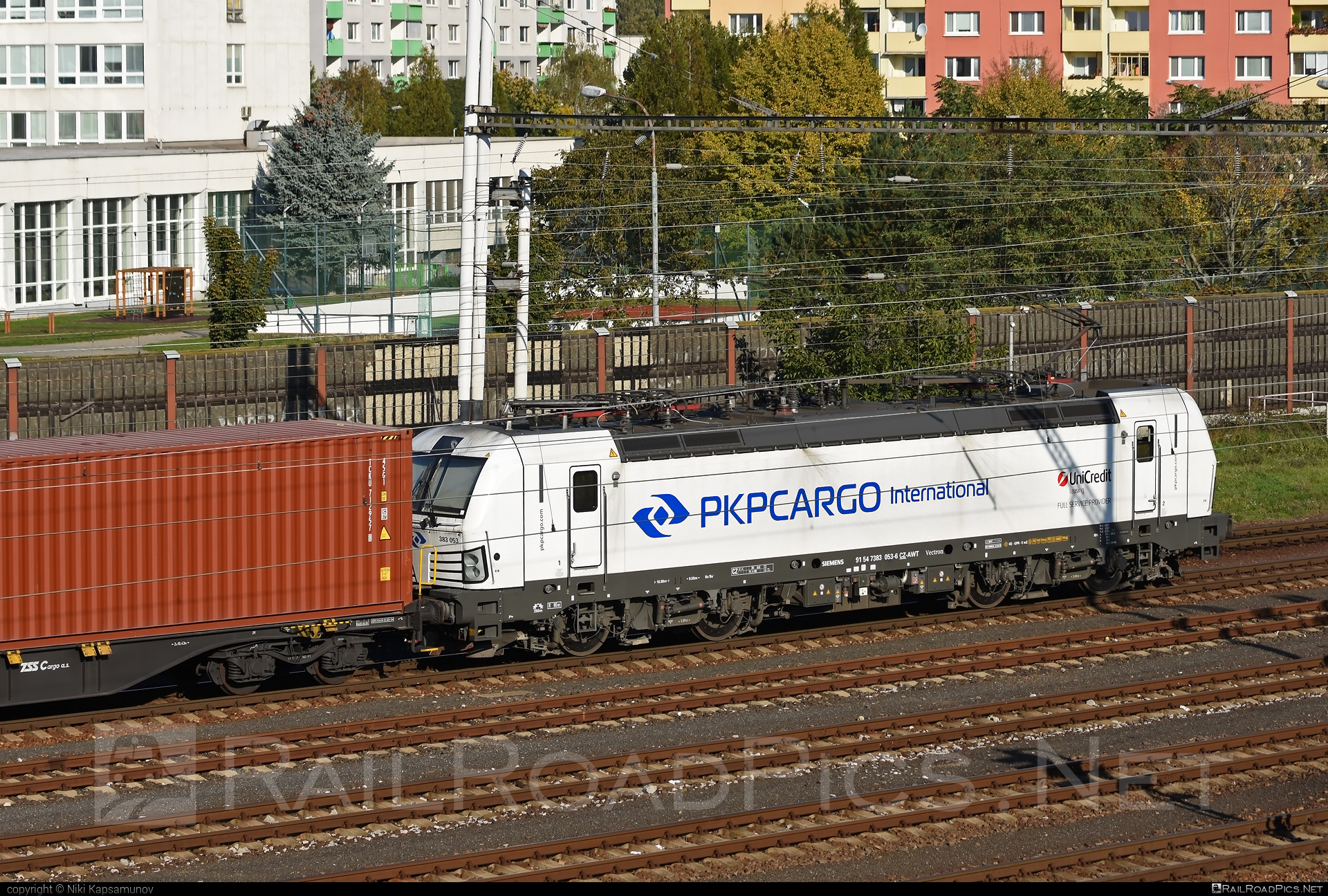 Siemens Vectron MS - 383 053 operated by PKP CARGO INTERNATIONAL a.s. #pkp #pkpcargo #pkpcargointernational #pkpcargointernationalas #siemens #siemensvectron #siemensvectronms #vectron #vectronms