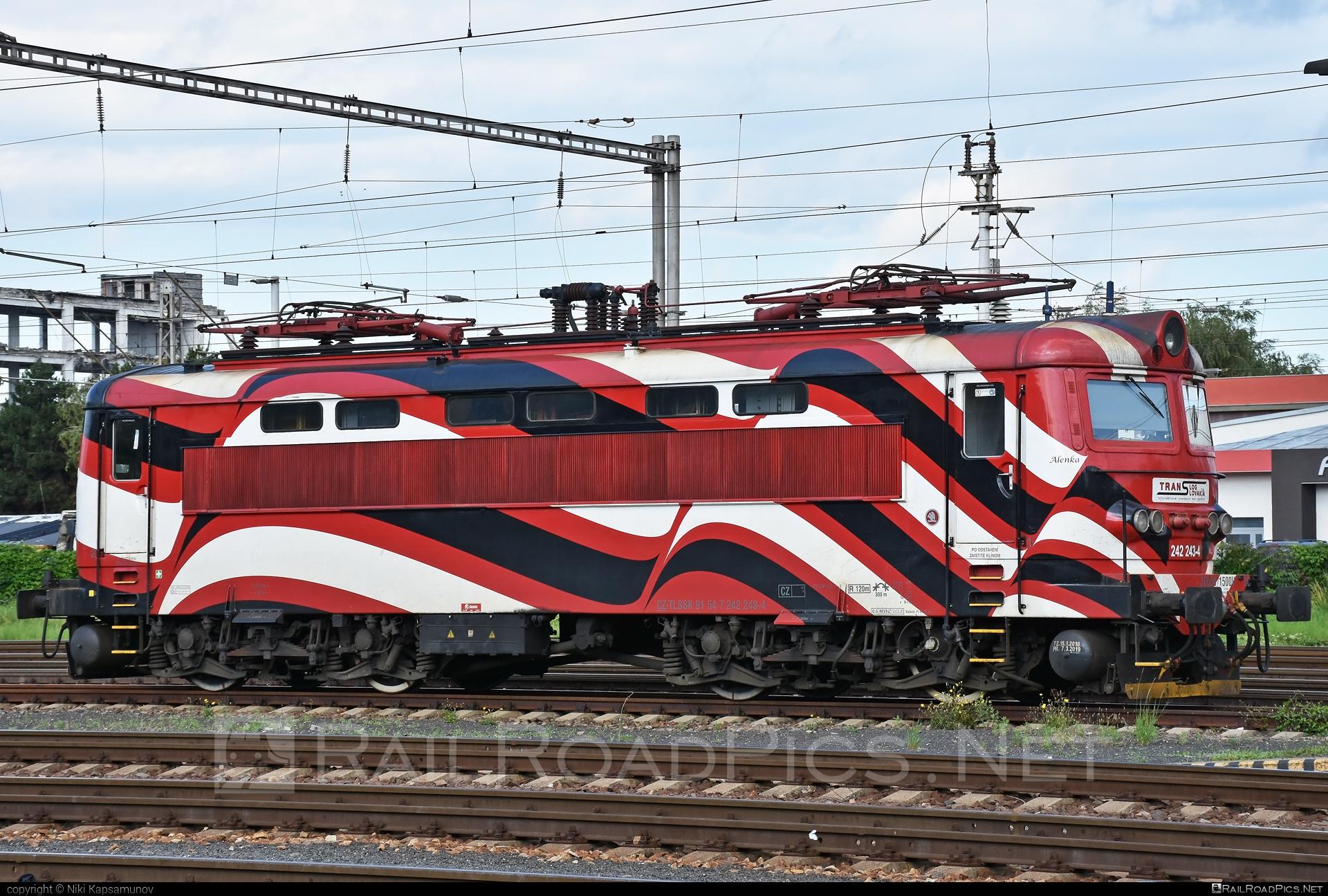 Škoda 73E - 242 243-4 operated by PETROLSPED Slovakia s.r.o. #locomotive242 #plechac #skoda #skoda73e #tlssk #translog #translogslovakia