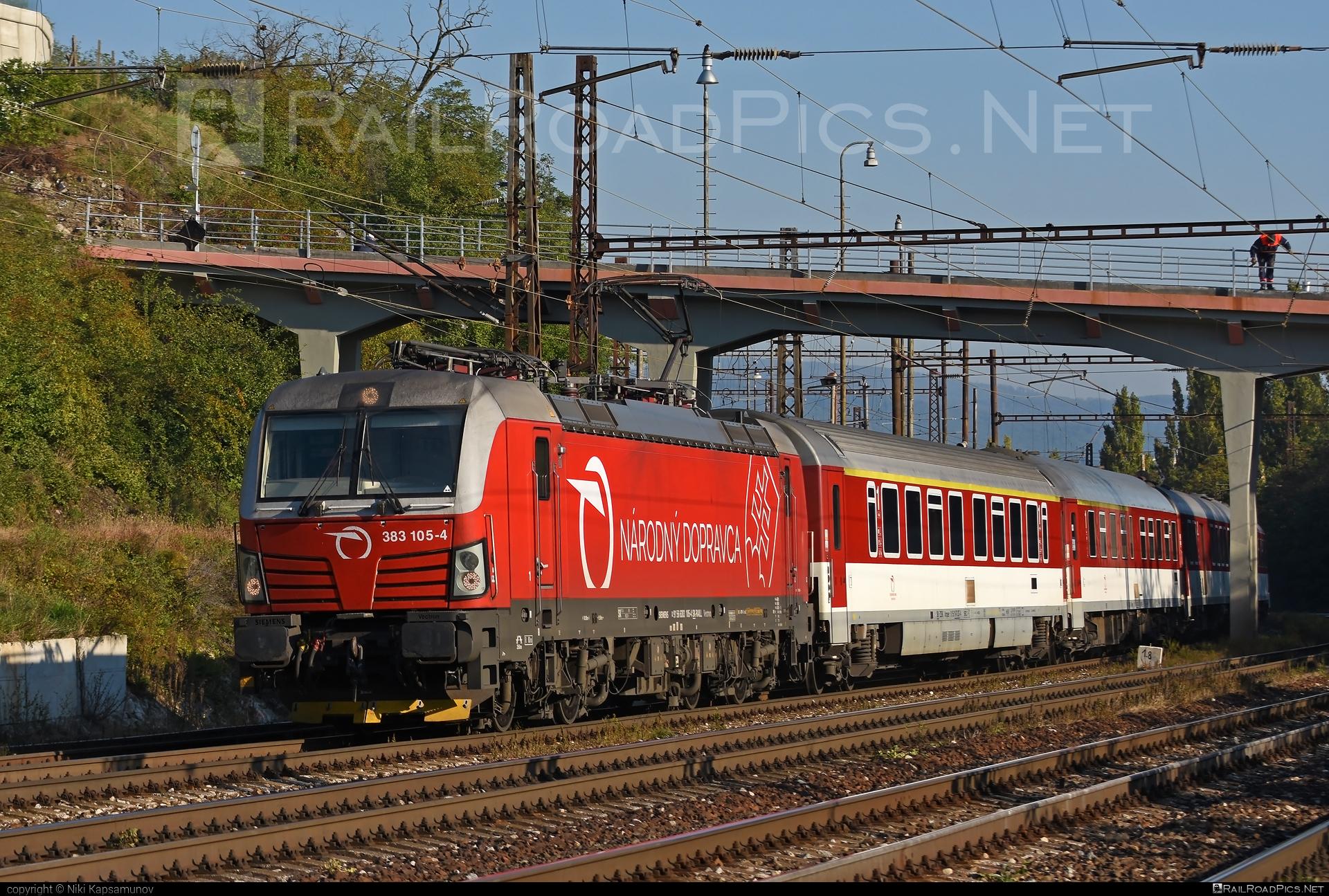 Siemens Vectron MS - 383 105-4 operated by Železničná Spoločnost' Slovensko, a.s. #SRailLease #SRailLeaseSro #ZeleznicnaSpolocnostSlovensko #raill #siemens #siemensvectron #siemensvectronms #vectron #vectronms #zssk