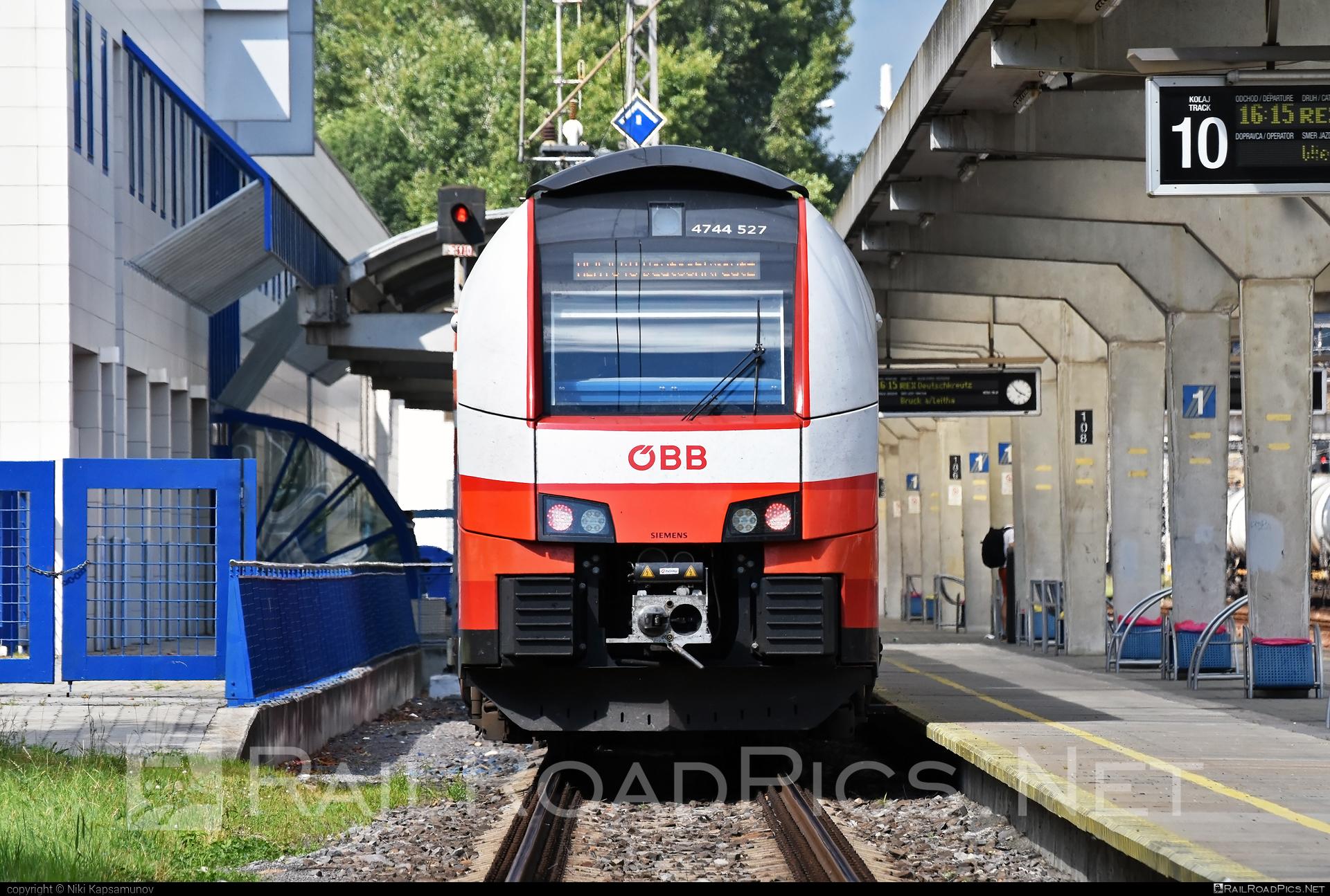 Siemens Desiro ML - 4744 527 operated by Österreichische Bundesbahnen #cityjet #desiro #desiroml #obb #obbcityjet #osterreichischebundesbahnen #siemens #siemensdesiro #siemensdesiroml