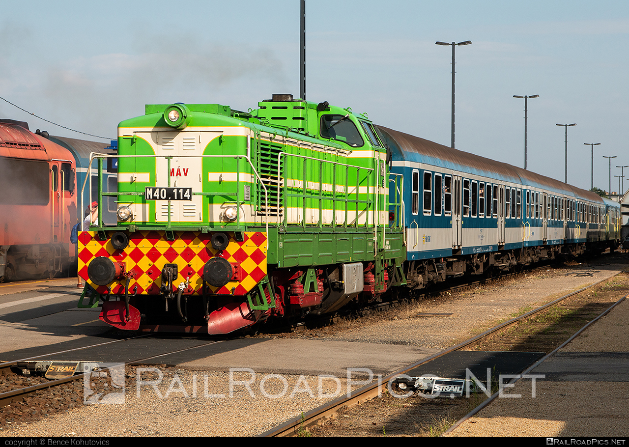 Ganz-MÁVAG DVM8 - 408 114-0 operated by MÁV Nosztalgia Kft. #dvm8 #ganzmavag #ganzmavagdvm8 #locomotivem40 #mav #mavm40class #mavnosztalgia #mavnosztalgiakft