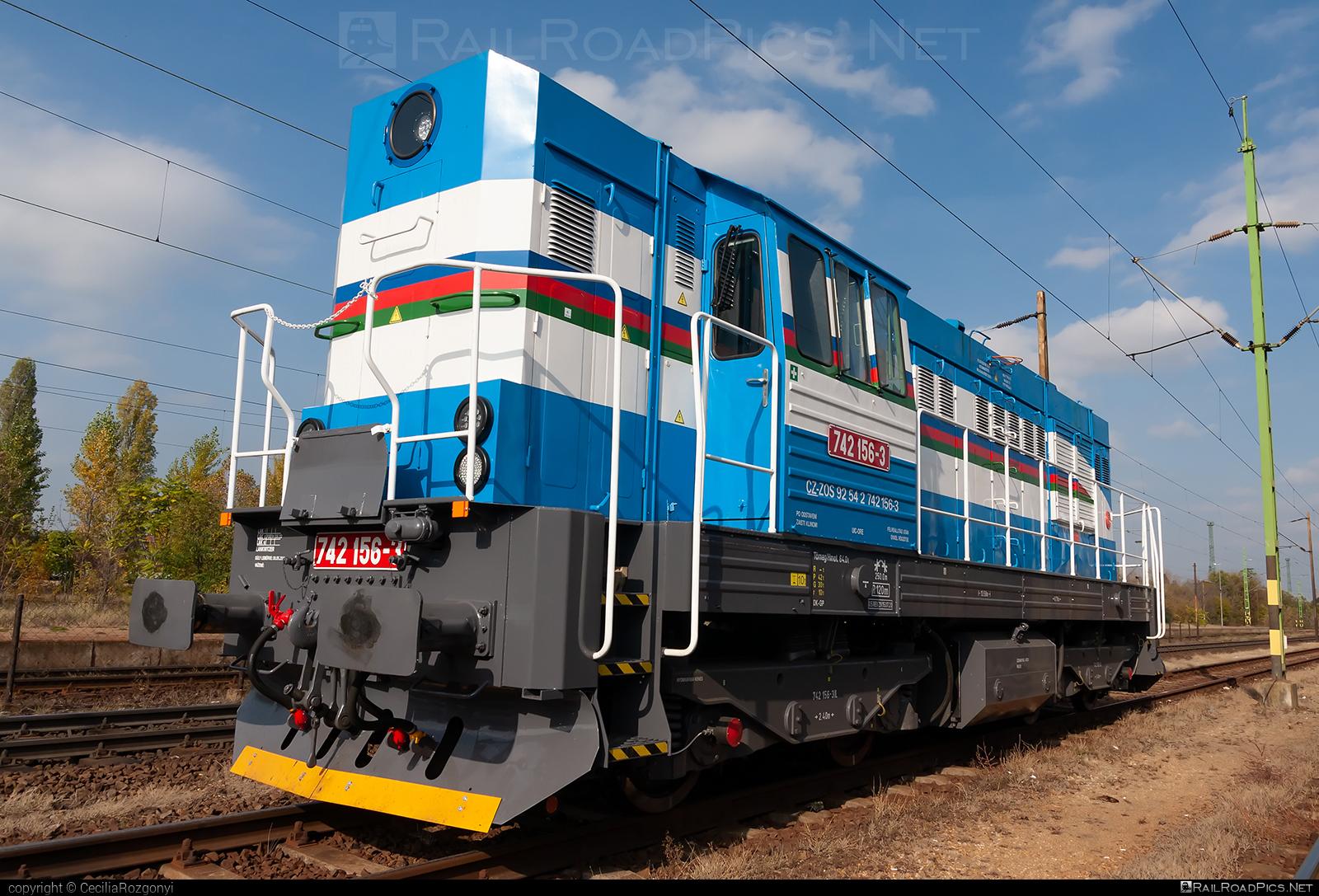 ČKD T 466.2 (742) - 742 156-3 operated by ZOS ZVOLEN s.r.o. #ckd #ckd4662 #ckd742 #ckdt4662 #zoszvolen