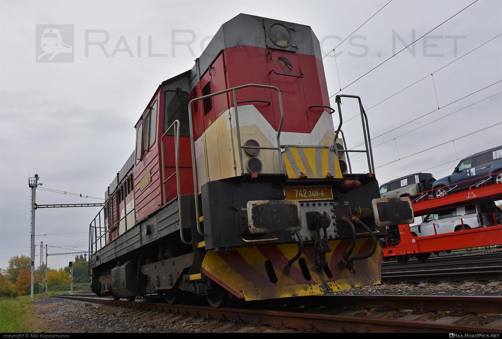 ČKD T 466.2 (742) - 742 348-6 operated by LOKO TRANS #ckd #ckd4662 #ckd742 #ckdt4662 #lokotrans #lts