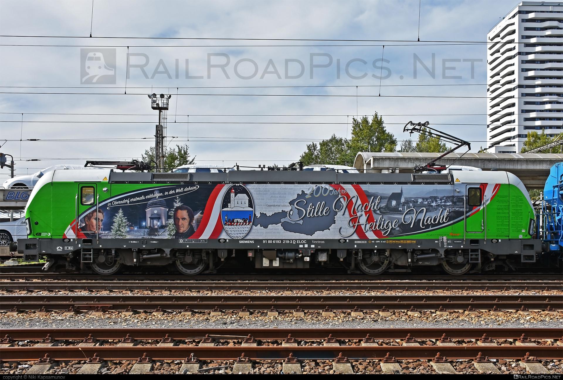 Siemens Vectron AC - 193 219 operated by Salzburger Eisenbahn Transportlogistik GmbH #SalzburgerEisenbahnTransportlogistik #SalzburgerEisenbahnTransportlogistikGmbH #ell #ellgermany #eloc #europeanlocomotiveleasing #setg #siemens #siemensvectron #siemensvectronac #vectron #vectronac