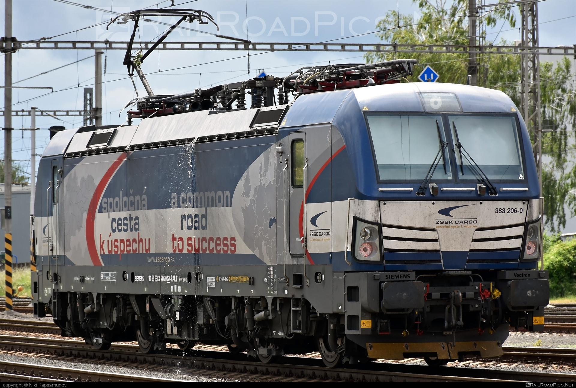 Siemens Vectron MS - 383 206-0 operated by Železničná Spoločnost' Cargo Slovakia a.s. #SRailLease #SRailLeaseSro #ZeleznicnaSpolocnostCargoSlovakia #raill #siemens #siemensvectron #siemensvectronms #vectron #vectronms #zsskcargo