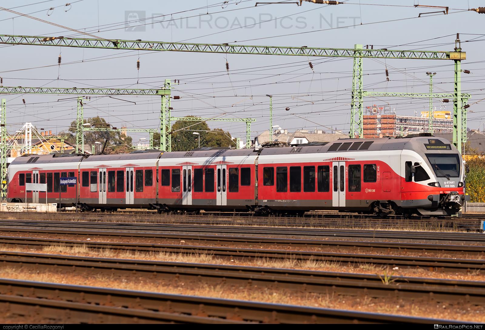 Stadler FLIRT - 415 025 operated by MÁV-START ZRt. #mav #mavstart #mavstartzrt #stadler #stadlerflirt #stadlerrail #stadlerrailag