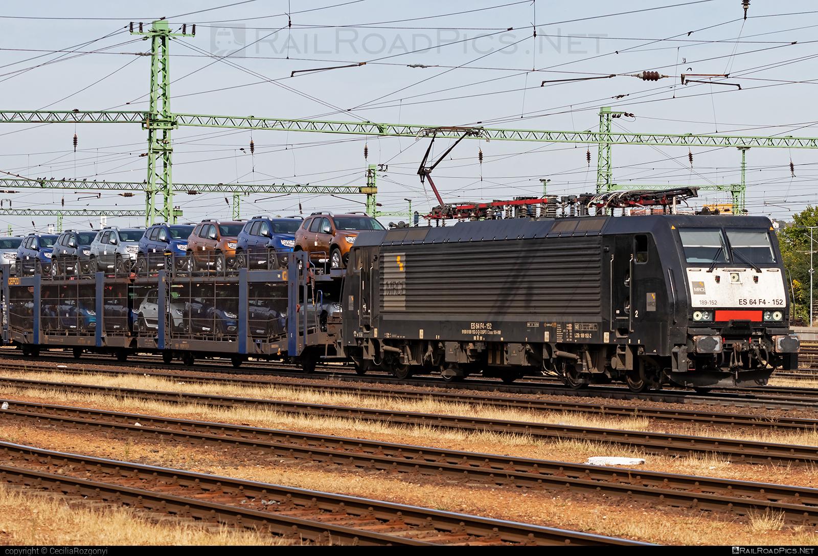 Siemens ES 64 F4 - 189 152-2 operated by Retrack Slovakia s. r. o. #carcarrierwagon #dispolok #es64 #es64f4 #eurosprinter #gefco #mitsuirailcapitaleurope #mitsuirailcapitaleuropegmbh #mrce #retrack #retrackslovakia #siemens #siemenses64 #siemenses64f4