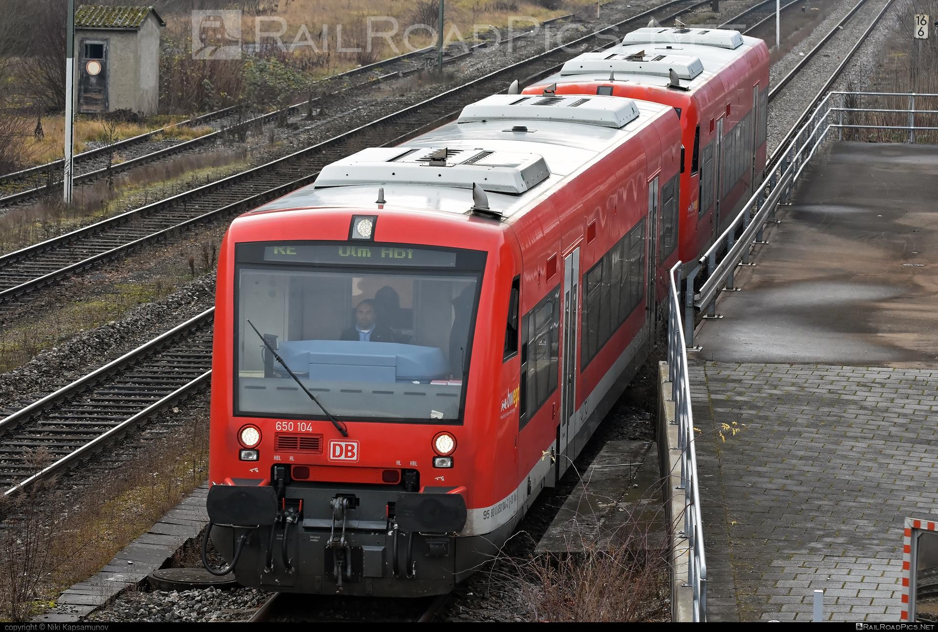 Stadler Regio-Shuttle RS1 - 650 104 operated by Deutsche Bahn / DB AG #bwegt #db #dbregio #deutschebahn #regioshuttlers1 #stadler #stadlerrail #stadlerrailag #stadlerregioshuttlers1