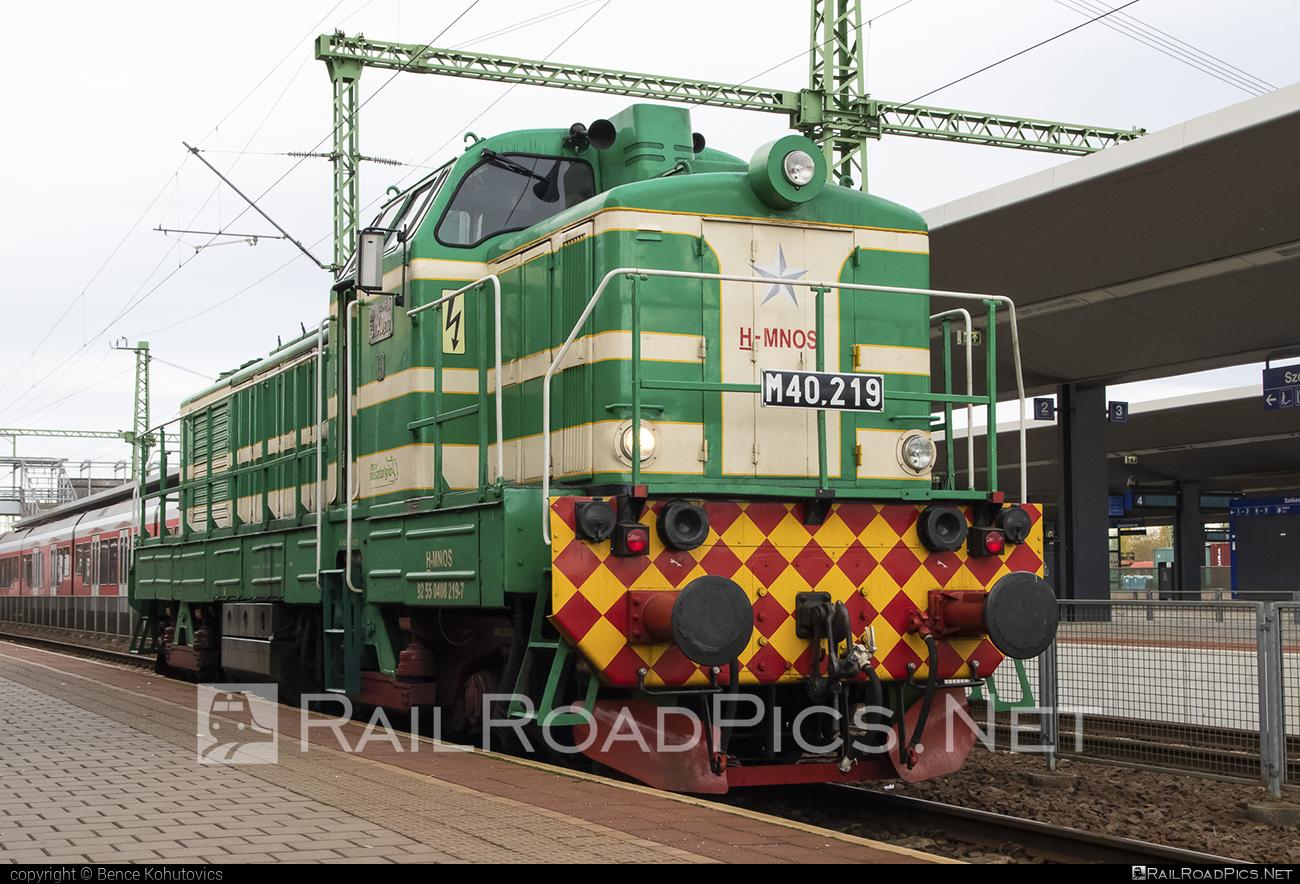 Ganz-MÁVAG DVM8 - 408 219-7 operated by MÁV Nosztalgia Kft. #dvm8 #ganzmavag #ganzmavagdvm8 #locomotivem40 #mavm40class #mavnosztalgia #mavnosztalgiakft