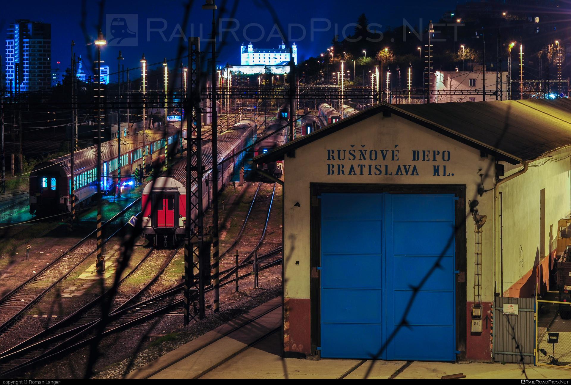 Bratislava-Hlavné locomotive depot location overview #bratislavahlavnedepot #depotbratislavahlavne