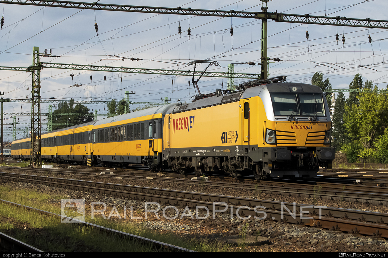 Siemens Vectron MS - 193 206 operated by RegioJet a.s. #ell #ellgermany #eloc #europeanlocomotiveleasing #regiojet #siemens #siemensvectron #siemensvectronms #vectron #vectronms