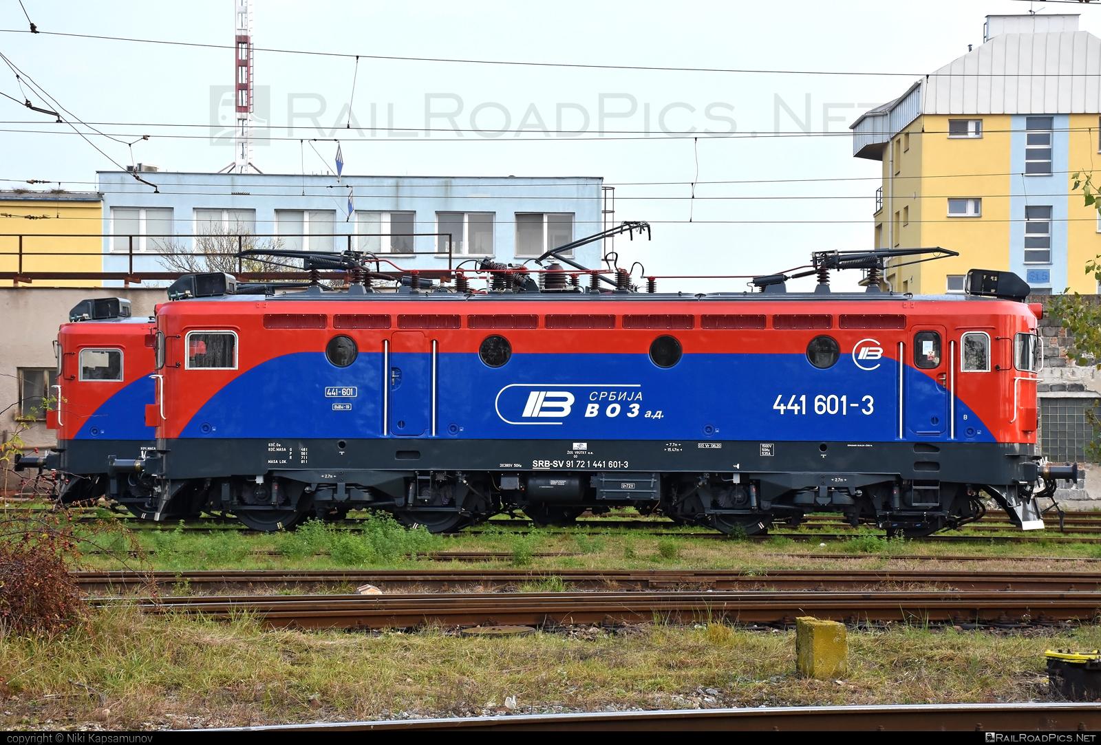 Končar JŽ class 441 - 441 601-3 operated by Srbija voz a.d. #jz441 #koncar #koncar441 #srbijavoz #srbijavozad