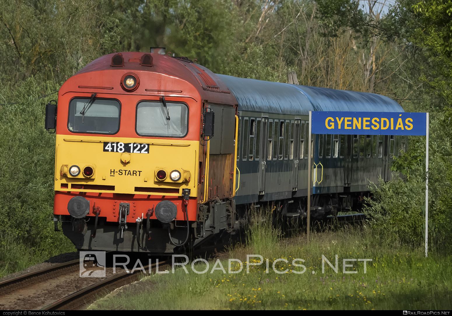 Ganz-MÁVAG DHM7-3 - 418 122 operated by MÁV-START ZRt. #dhm7 #dhm73 #ganzm41 #ganzmavag #ganzmavag418 #ganzmavagdhm7 #ganzmavagdhm73 #ganzmavagm41 #m41locomotive #mavstart #mavstartzrt
