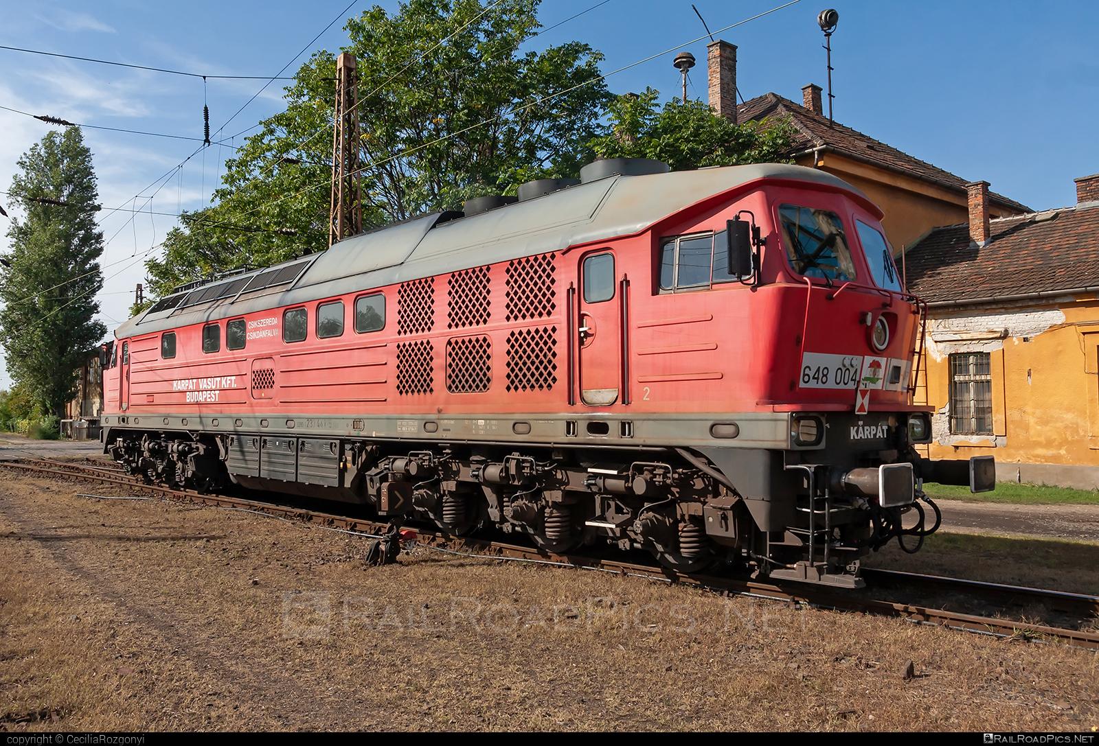 Lugansk TE109 - 648 004 operated by KÁRPÁT Vasút Kft #db233 #ltz #ltzte109 #ludmila #ludmilla #lugansk #luganskte109 #luganskteplovoz #luhansklocomotiveworks #luhanskteplovoz