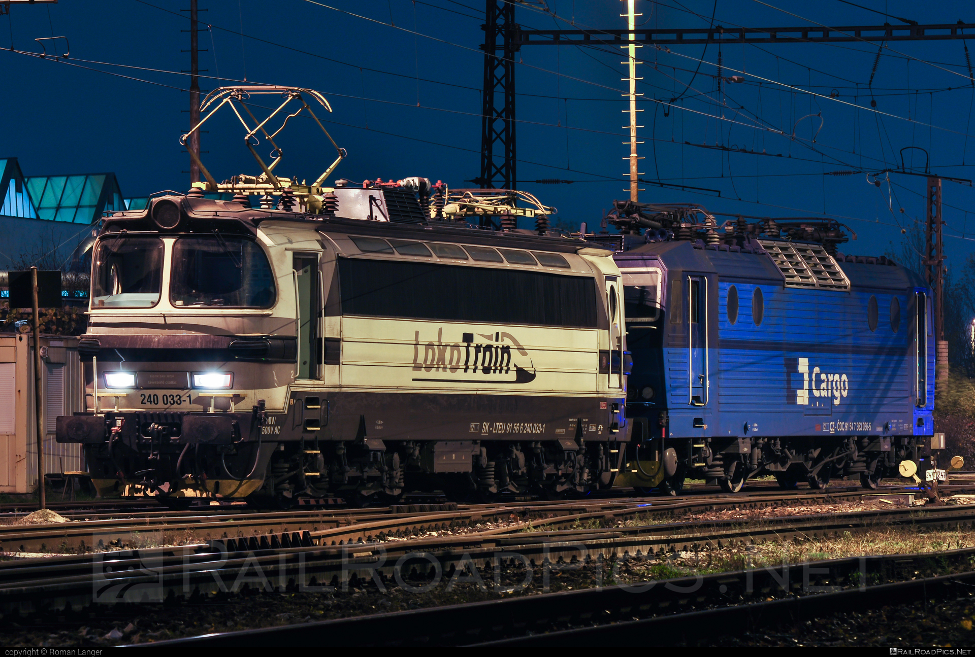 Škoda 47E - 240 033-1 operated by Loko Train s.r.o. #laminatka #locomotive240 #lokotrain #lokotrainsro #skoda #skoda47e