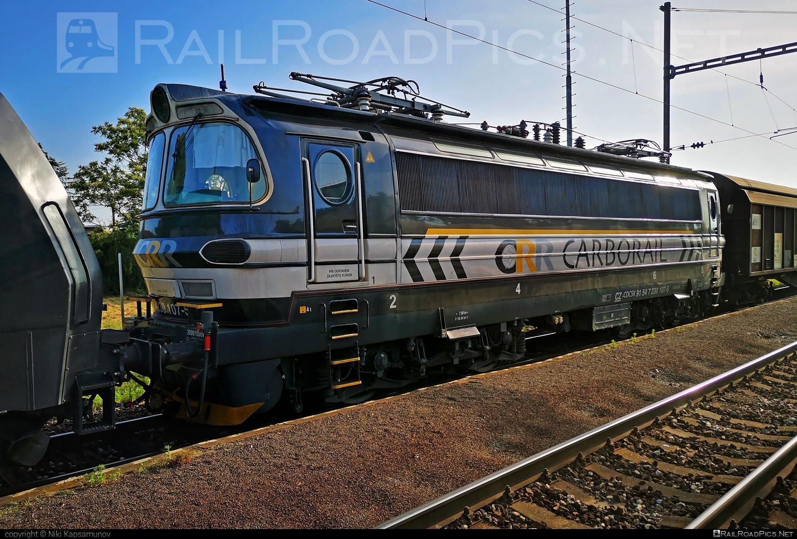 Škoda 47E - 230 107-5 operated by Carbo Rail, s.r.o. #cdcargoslovakia #cdcsk #laminatka #locomotive240 #skoda #skoda47e