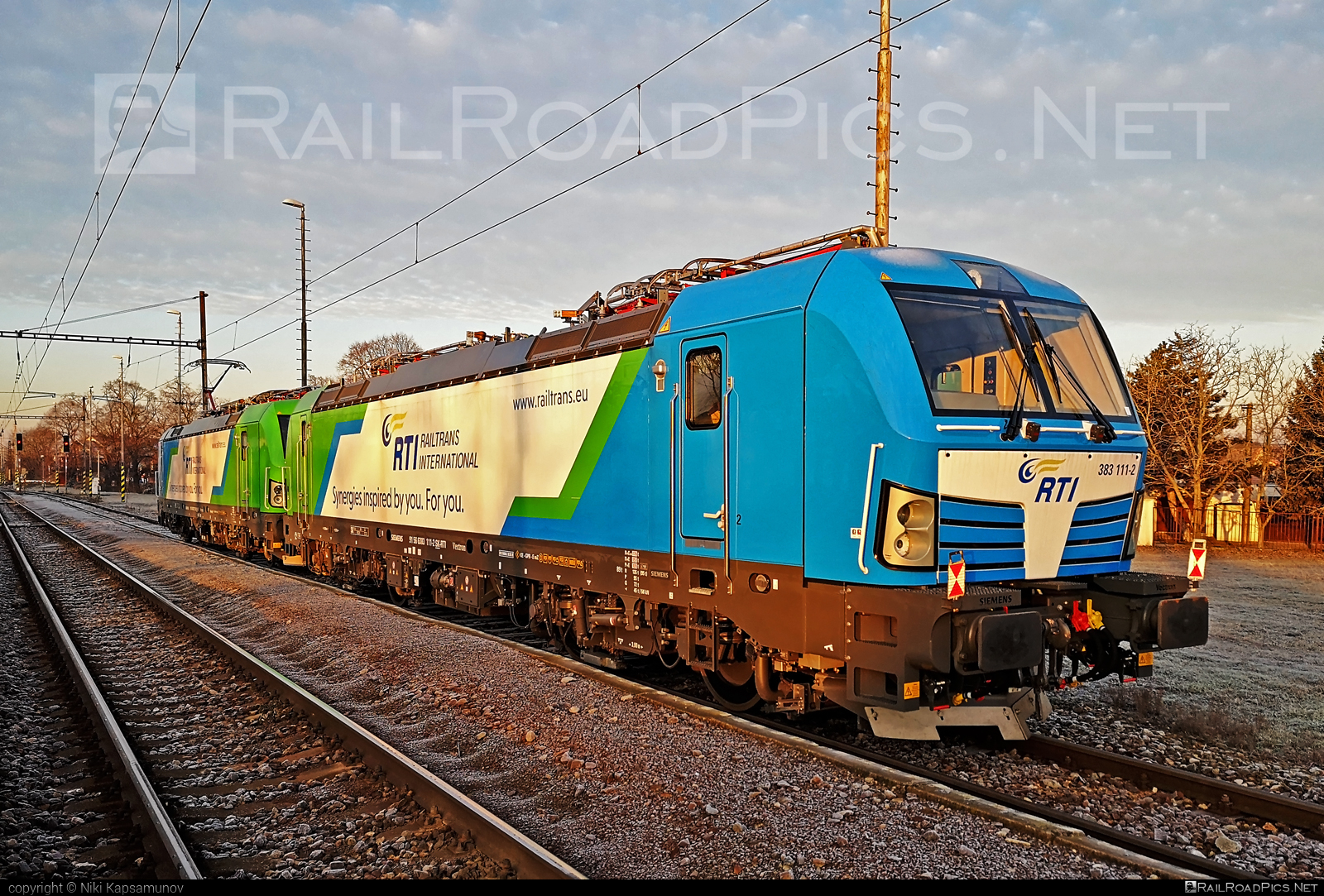 Siemens Vectron MS - 383 111-2 operated by Railtrans International, s.r.o #siemens #siemensvectron #siemensvectronms #vectron #vectronms