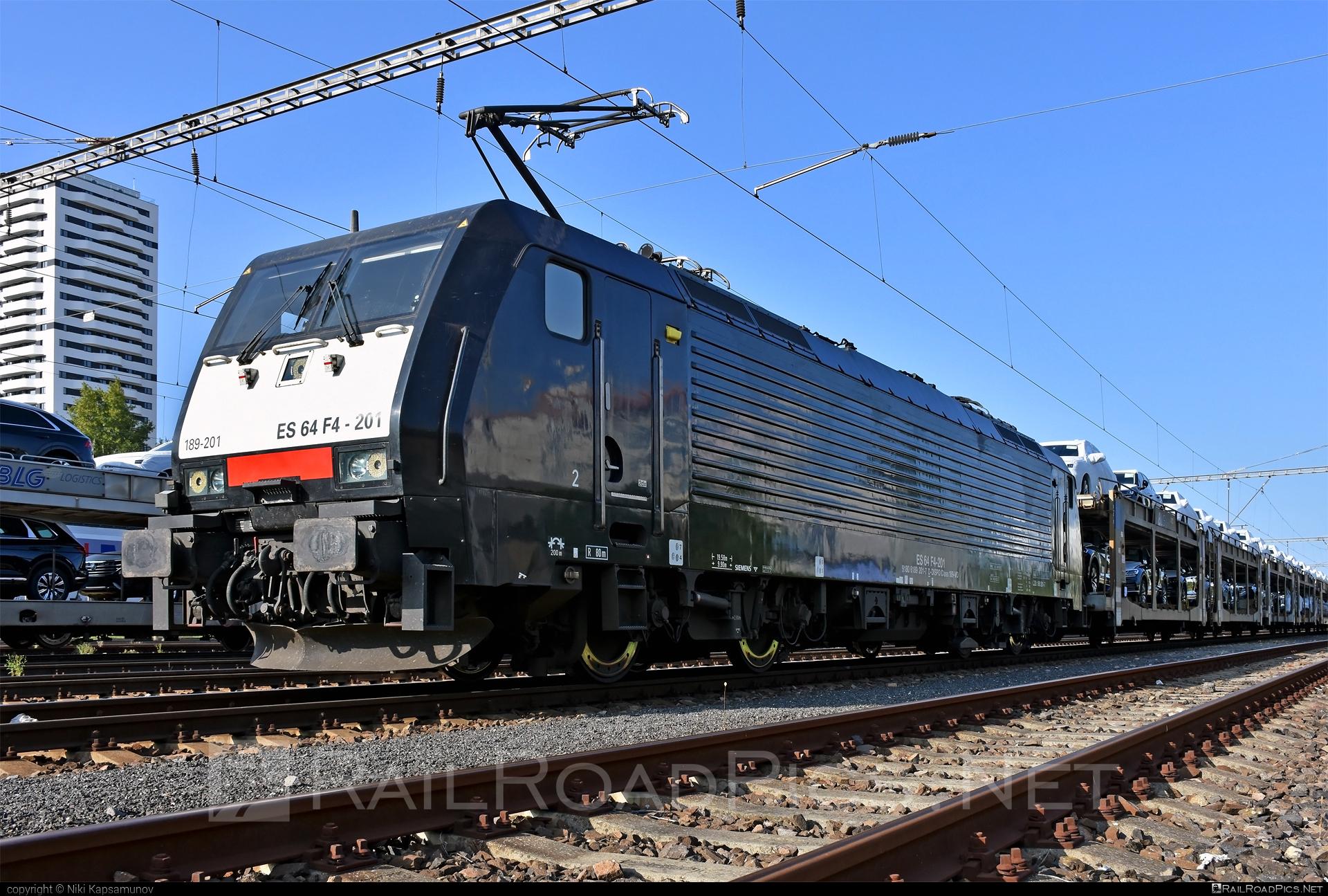 Siemens ES 64 F4 - 189 201-7 operated by ecco-rail GmbH #blg #carcarrierwagon #dispolok #ecco-rail #eccorail #eccorailgmbh #es64 #es64f4 #eurosprinter #mitsuirailcapitaleurope #mitsuirailcapitaleuropegmbh #mrce #siemens #siemenses64 #siemenses64f4