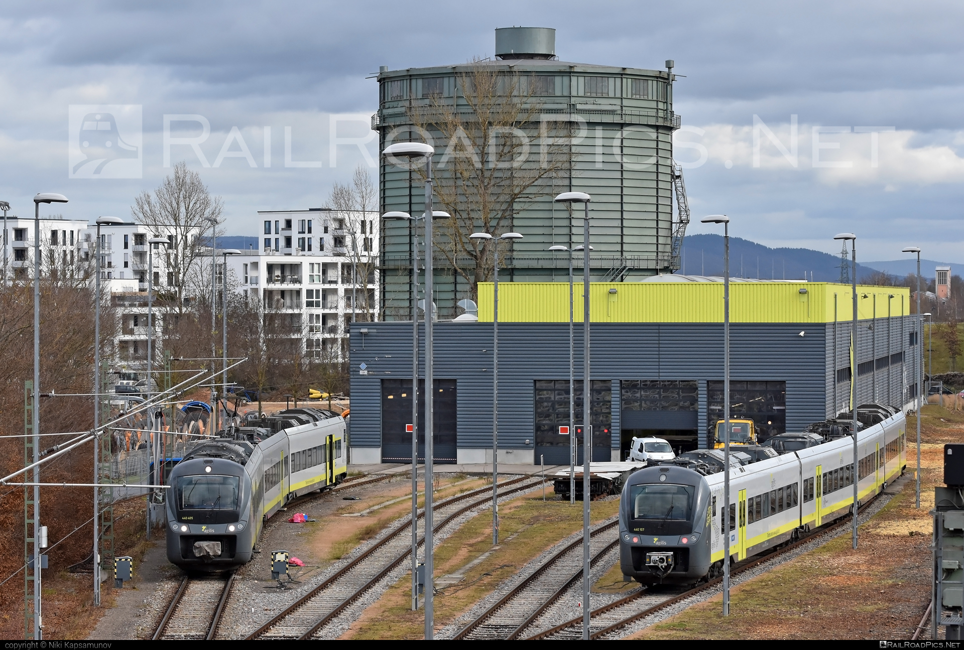 Alstom Coradia Continental - 440 107 operated by Agilis Verkersgesellschaft mbH & Co KG #agilis #agilisverkersgesellschaft #alstom #alstomcoradia #alstomcoradiacontinental