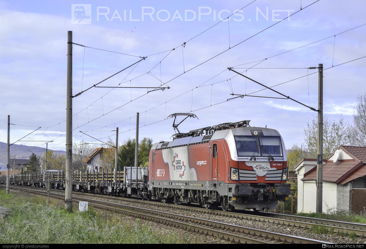 Siemens Vectron MS - 193 749-9 operated by Cargo Motion s.r.o. #CargoMotion #CargoMotionAS #ell #ellgermany #eloc #europeanlocomotiveleasing #siemens #siemensvectron #siemensvectronms #vectron #vectronms
