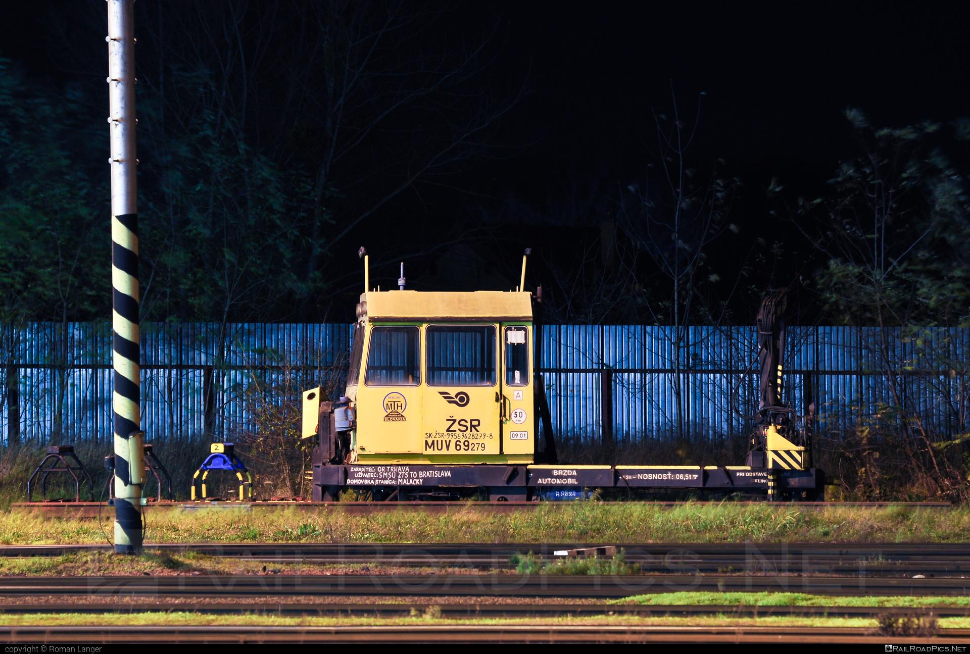 MTH REMONT MUV-69 - 628 279-8 operated by Železnice Slovenskej Republiky #mthremont #muv69 #zelezniceslovenskejrepubliky #zsr