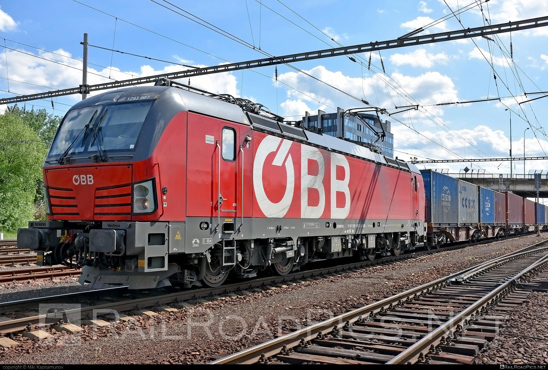 Siemens Vectron MS - 1293 007 operated by Rail Cargo Austria AG #flatwagon #obb #osterreichischebundesbahnen #rcw #siemens #siemensvectron #siemensvectronms #vectron #vectronms