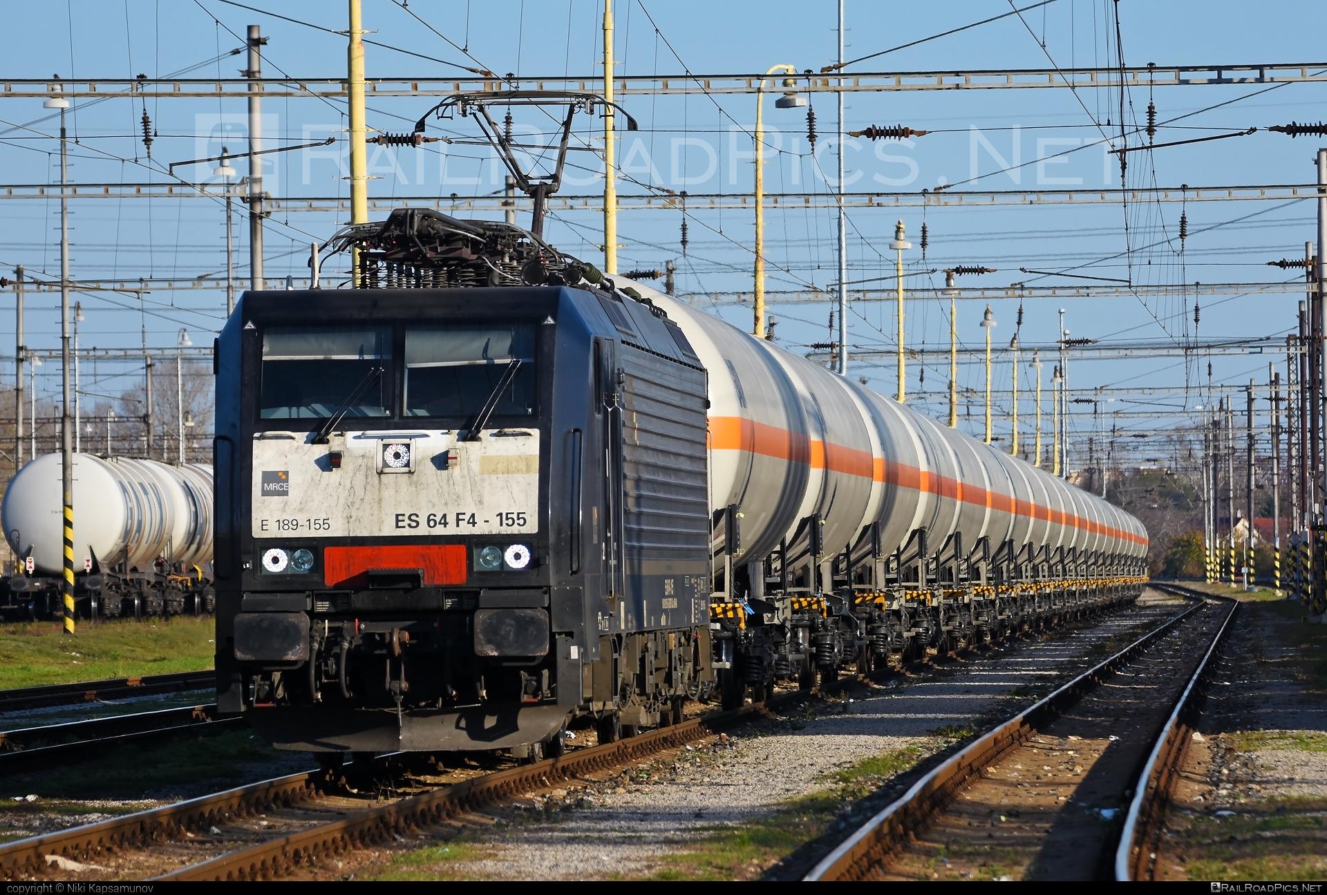 Siemens ES 64 F4 - 189 155-5 operated by Retrack Slovakia s. r. o. #dispolok #es64 #es64f4 #eurosprinter #kesselwagen #mitsuirailcapitaleurope #mitsuirailcapitaleuropegmbh #mrce #retrack #retrackslovakia #siemens #siemenses64 #siemenses64f4 #tankwagon