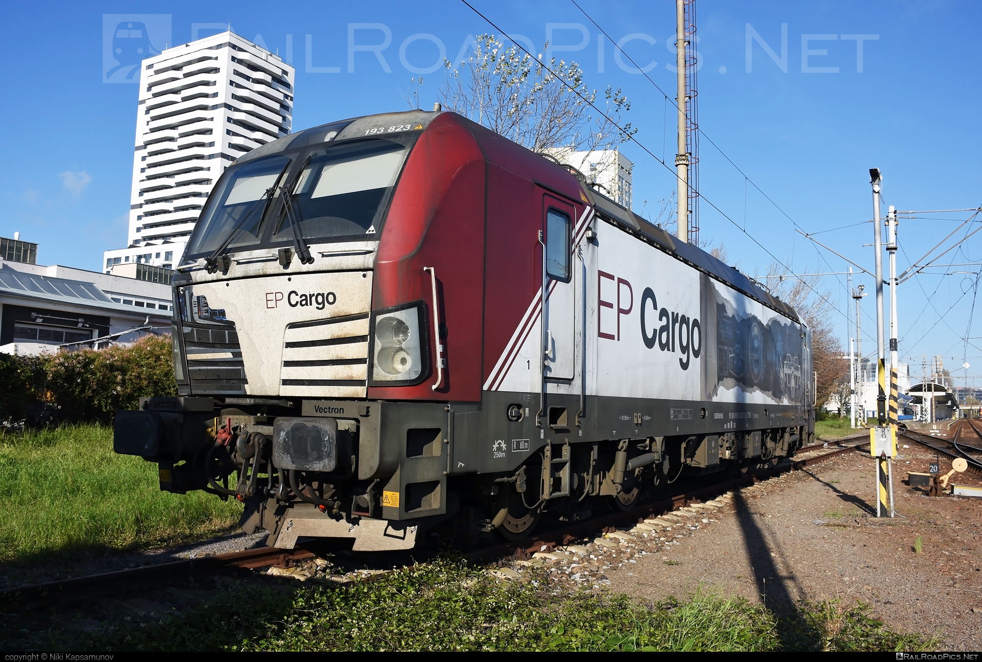 Siemens Vectron MS - 193 823 operated by PKP CARGO INTERNATIONAL a.s. #epcargo #lokotrain #lokotrainsro #pkpcargointernational #pkpcargointernationalas #siemens #siemensvectron #siemensvectronms #vectron #vectronms