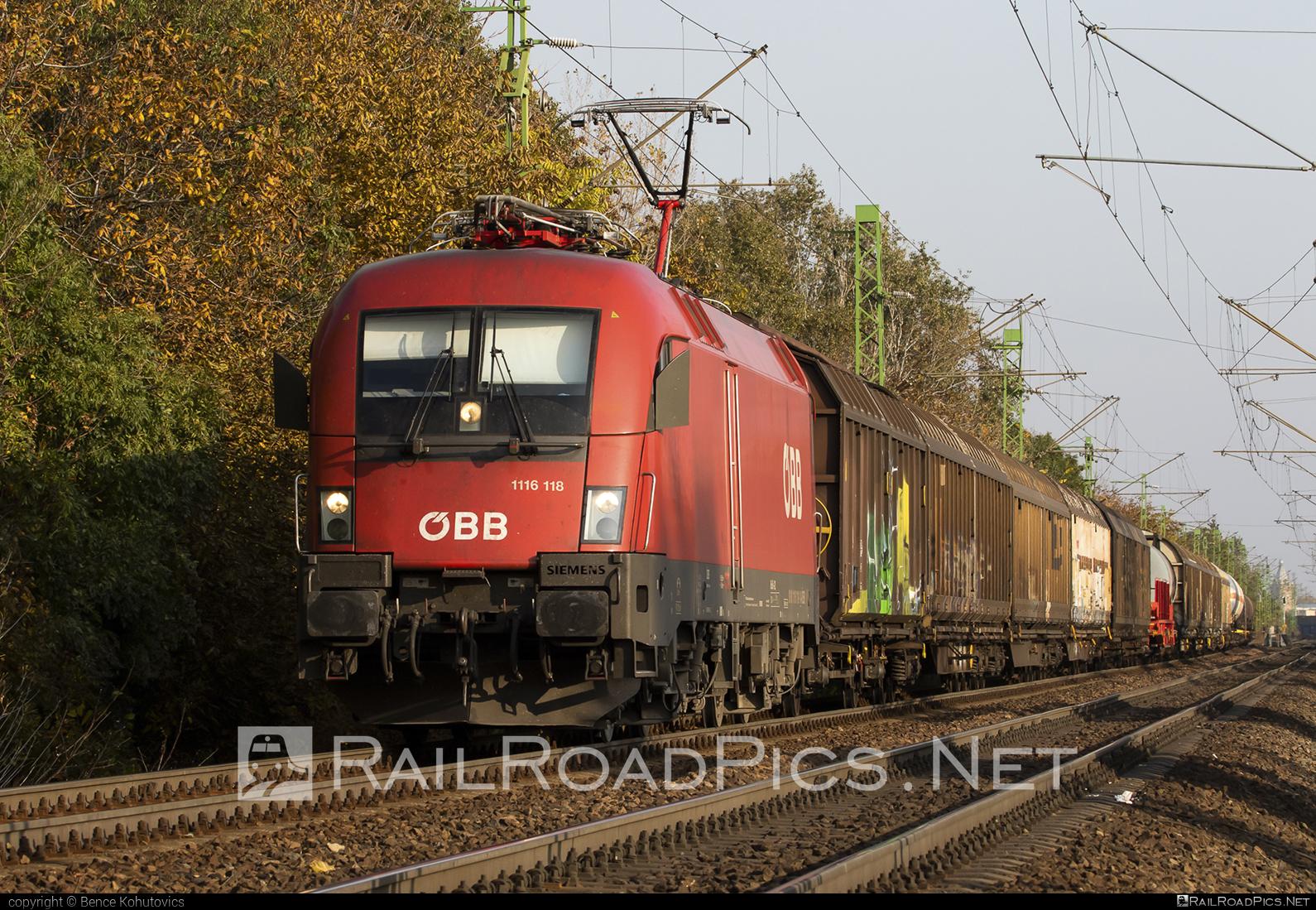 Siemens ES 64 U2 - 1116 118 operated by Rail Cargo Hungaria ZRt. #es64 #es64u #es64u2 #eurosprinter #obb #osterreichischebundesbahnen #rch #siemens #siemenses64 #siemenses64u #siemenses64u2 #siemenstaurus #taurus #tauruslocomotive