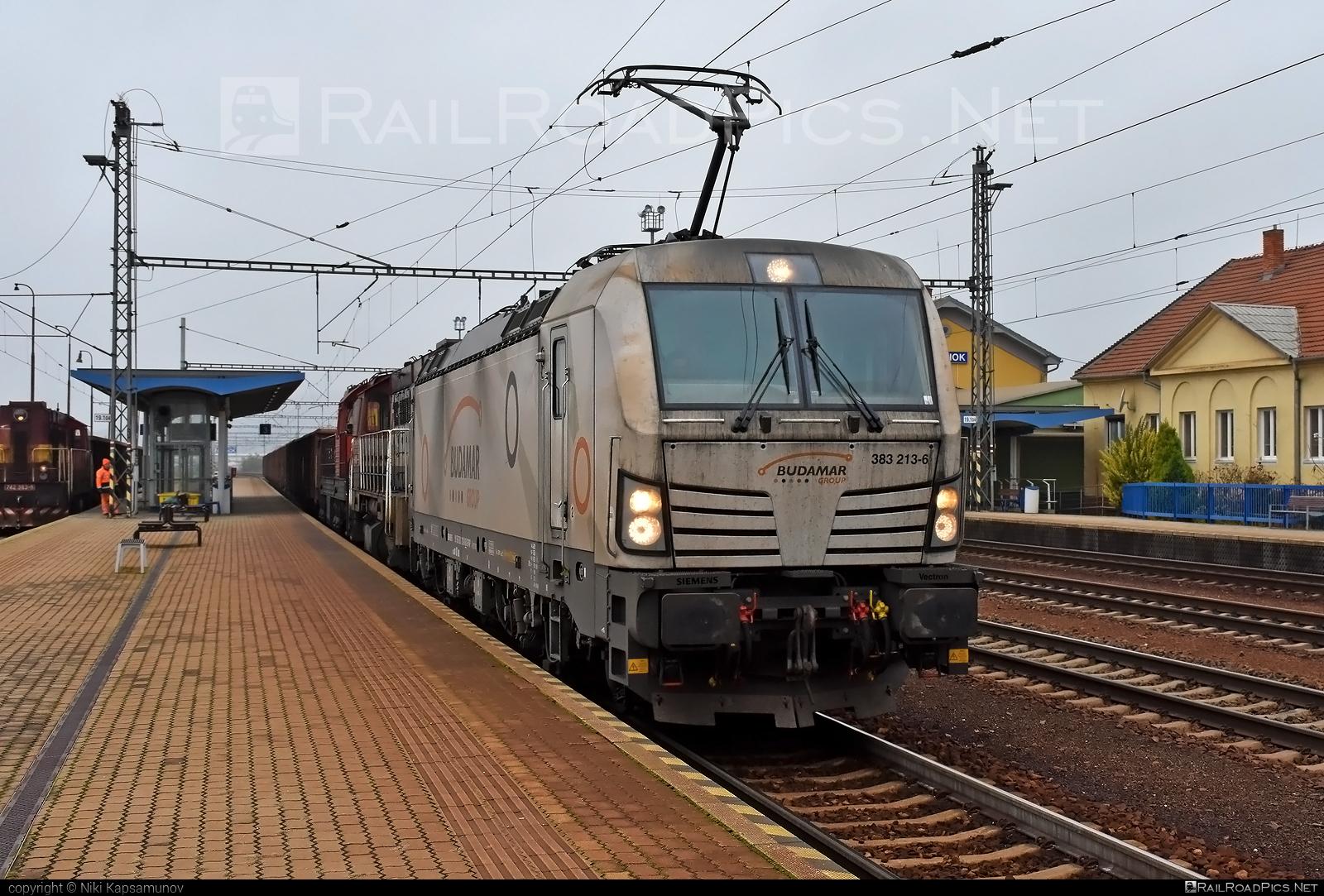 Siemens Vectron MS - 383 213-6 operated by LOKORAIL, a.s. #budamar #budamargroup #lokorail #lrl #siemens #siemensvectron #siemensvectronms #slovenskaplavbaapristavy #slovenskaplavbaapristavyas #spap #vectron #vectronms
