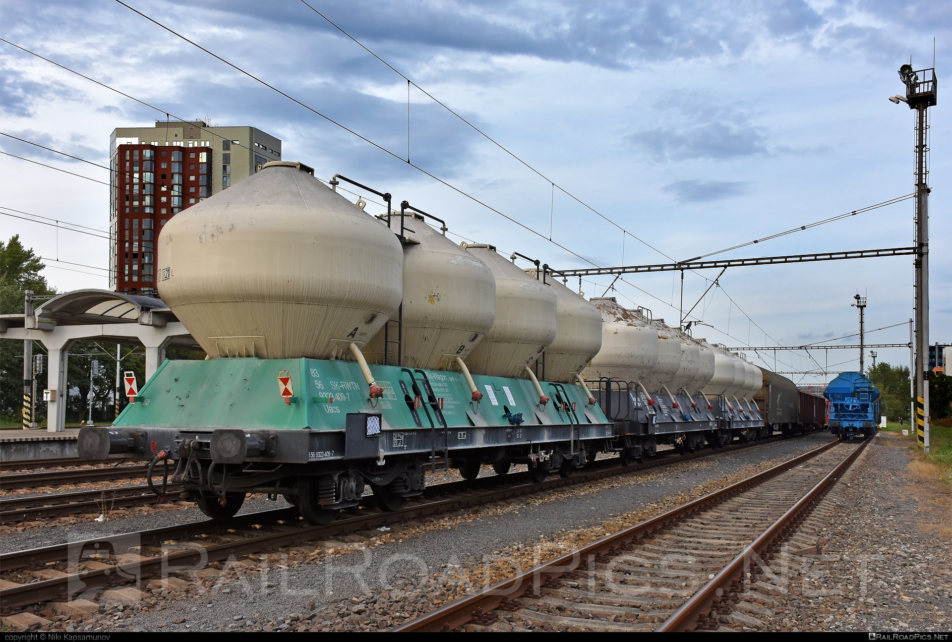Class U - Uacs - 83 56 9323 409-7 operated by Raj-Wagon spol. s.r.o. #raj-wagon #rwtn #uacs